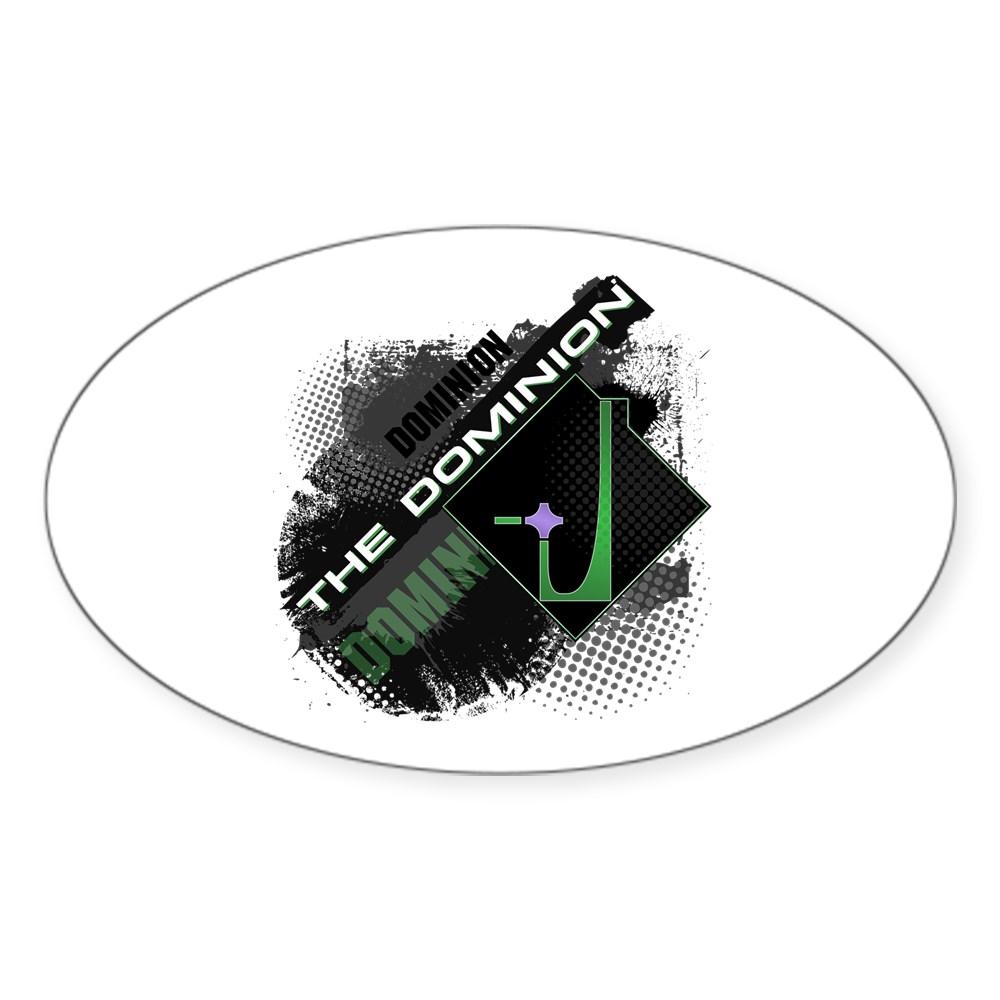 Dominion Oval Sticker