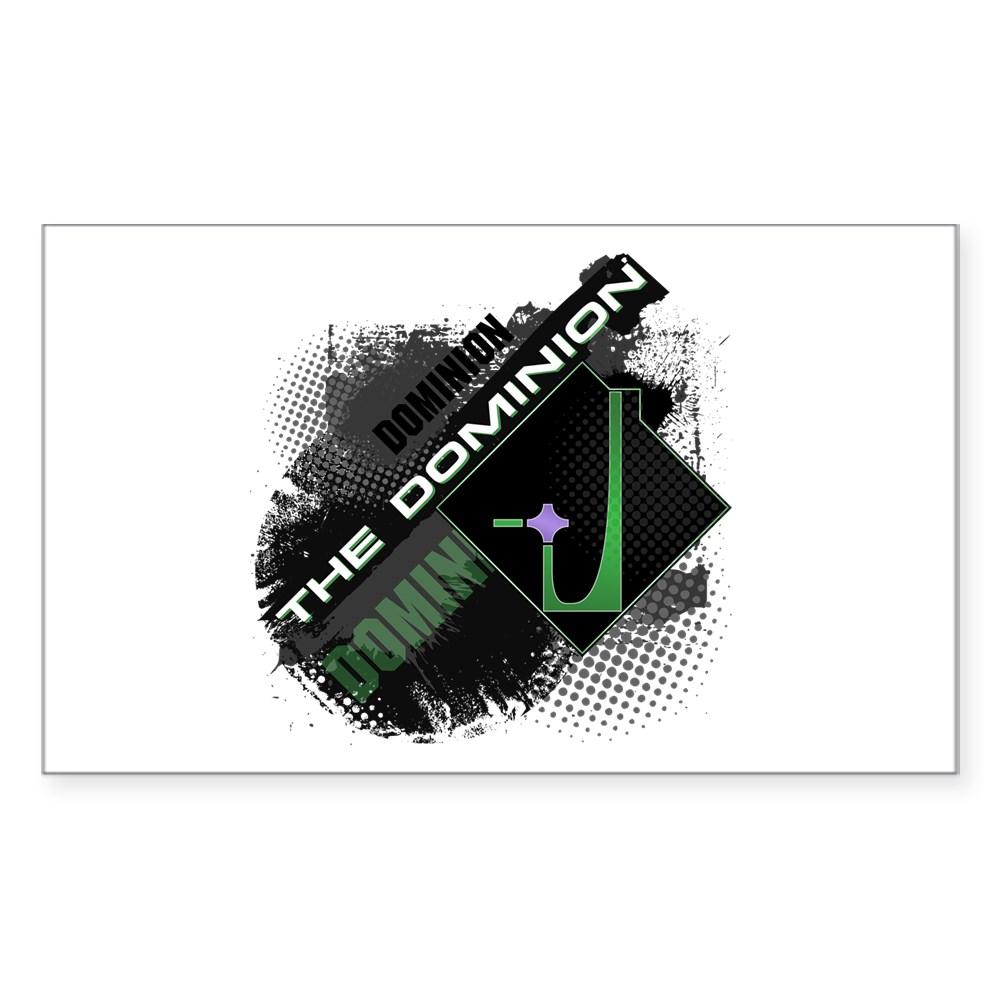 Dominion Rectangle Sticker