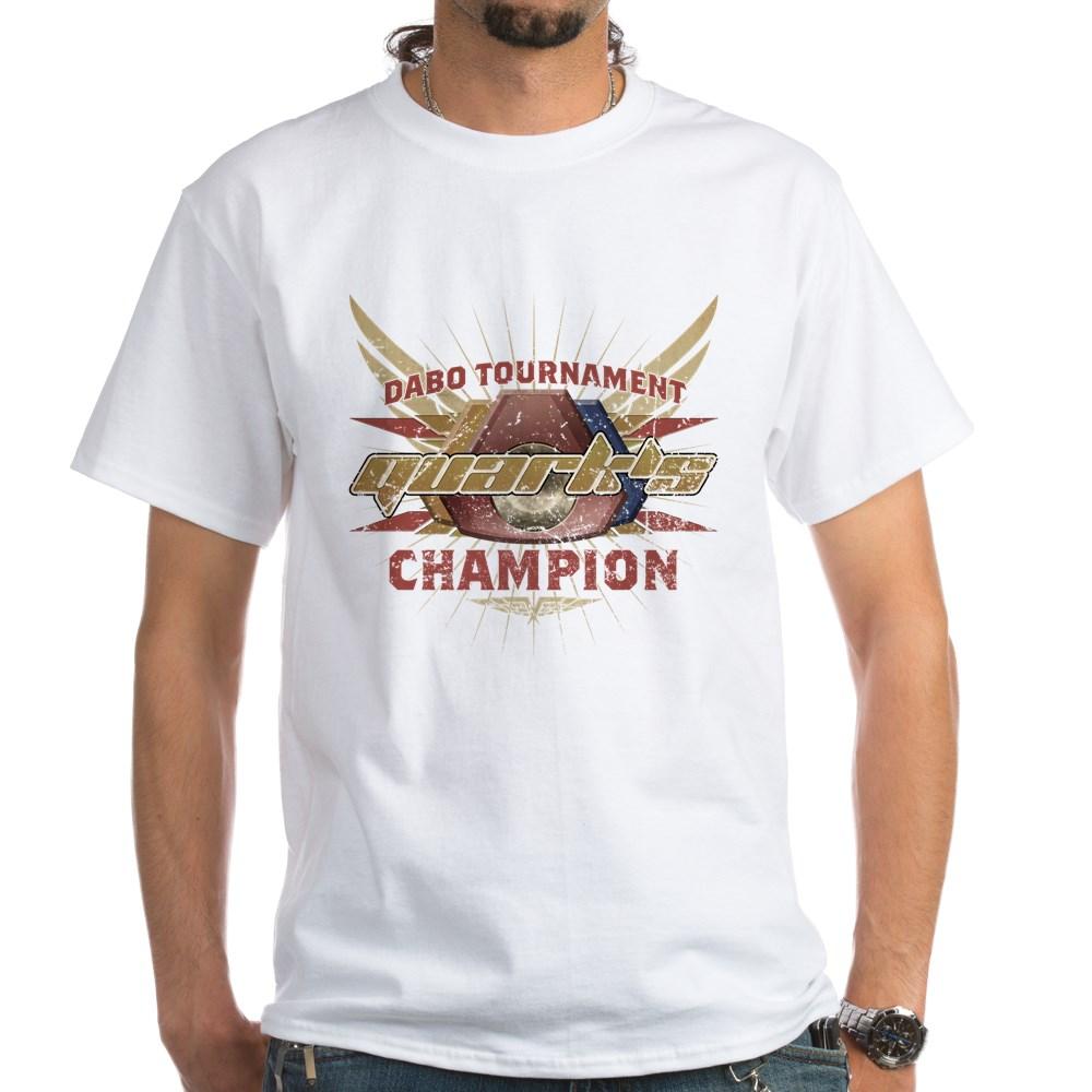 Vintage Quark's Dabo Champion White T-Shirt