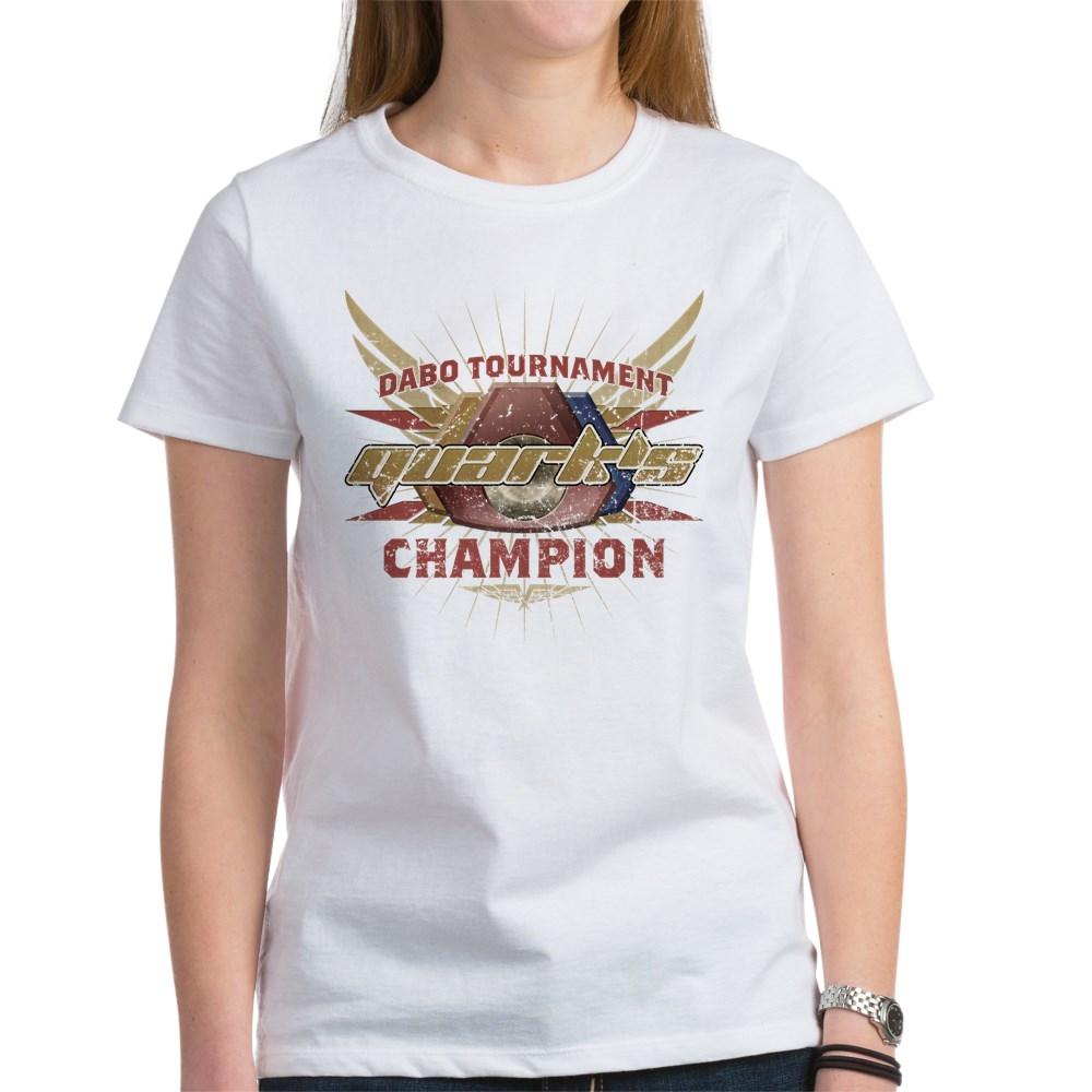 Vintage Quark's Dabo Champion Women's T-Shirt
