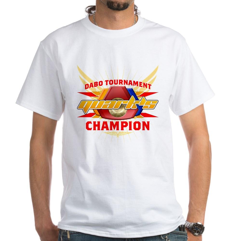 Quark's Dabo Champion White T-Shirt
