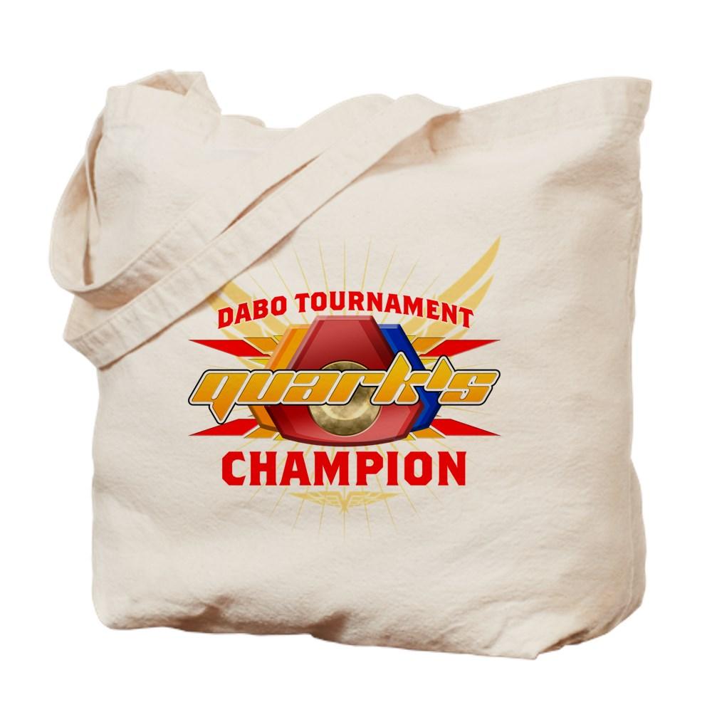 Quark's Dabo Champion Tote Bag