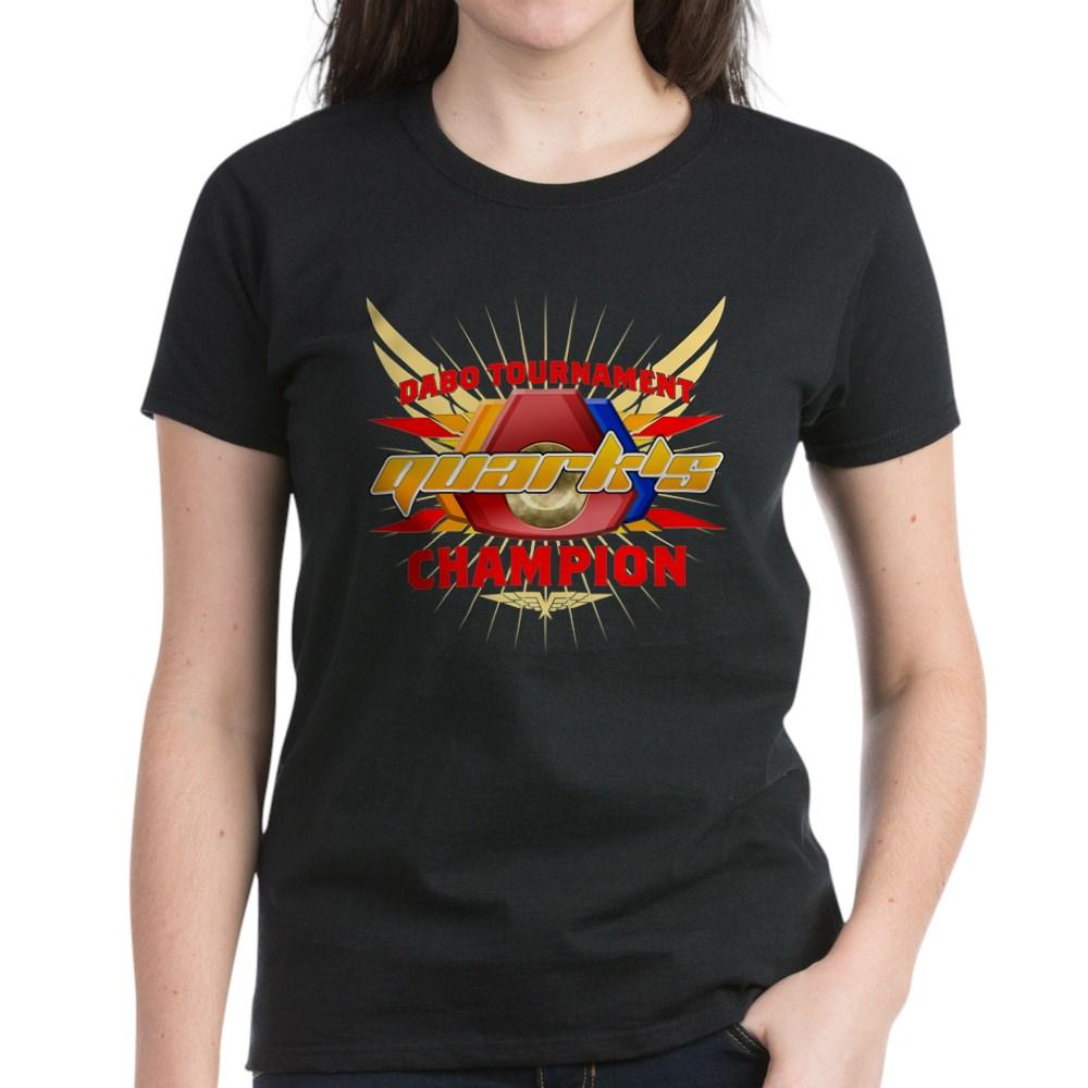 Quark's Dabo Champion Women's Dark T-Shirt