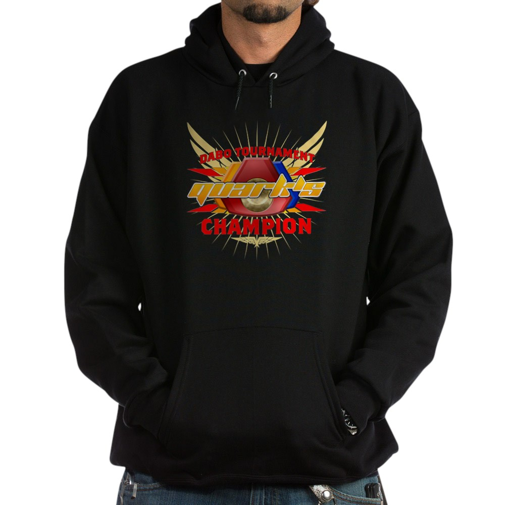 Quark's Dabo Champion Dark Hoodie