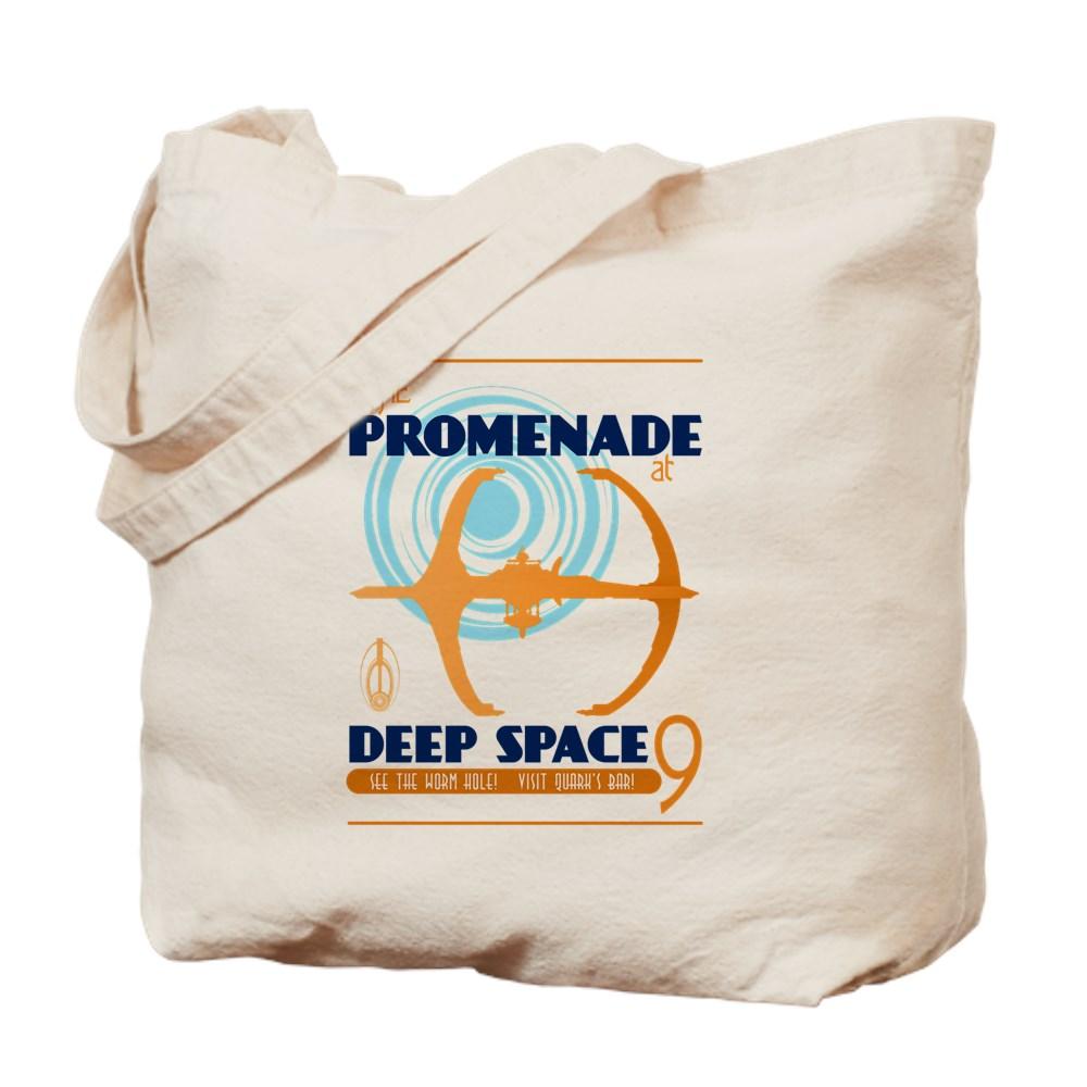 The Promenade at Deep Space 9 Tote Bag