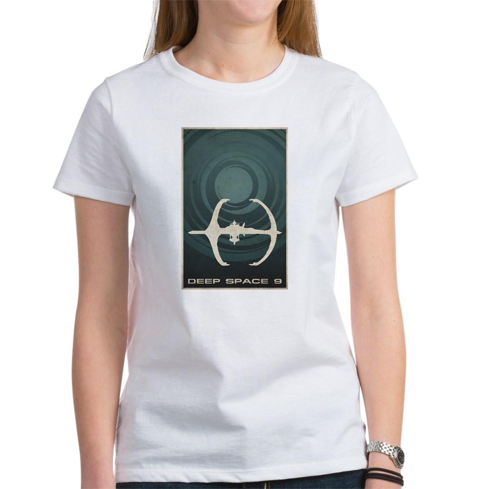 Minimal Deep Space 9 Poster Design Women's T-Shirt