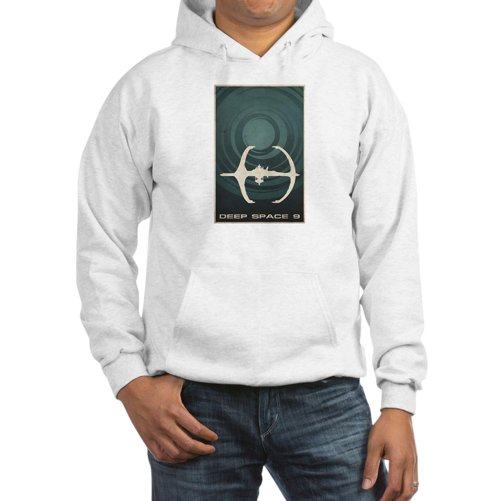 Minimal Deep Space 9 Poster Design Hooded Sweatshirt