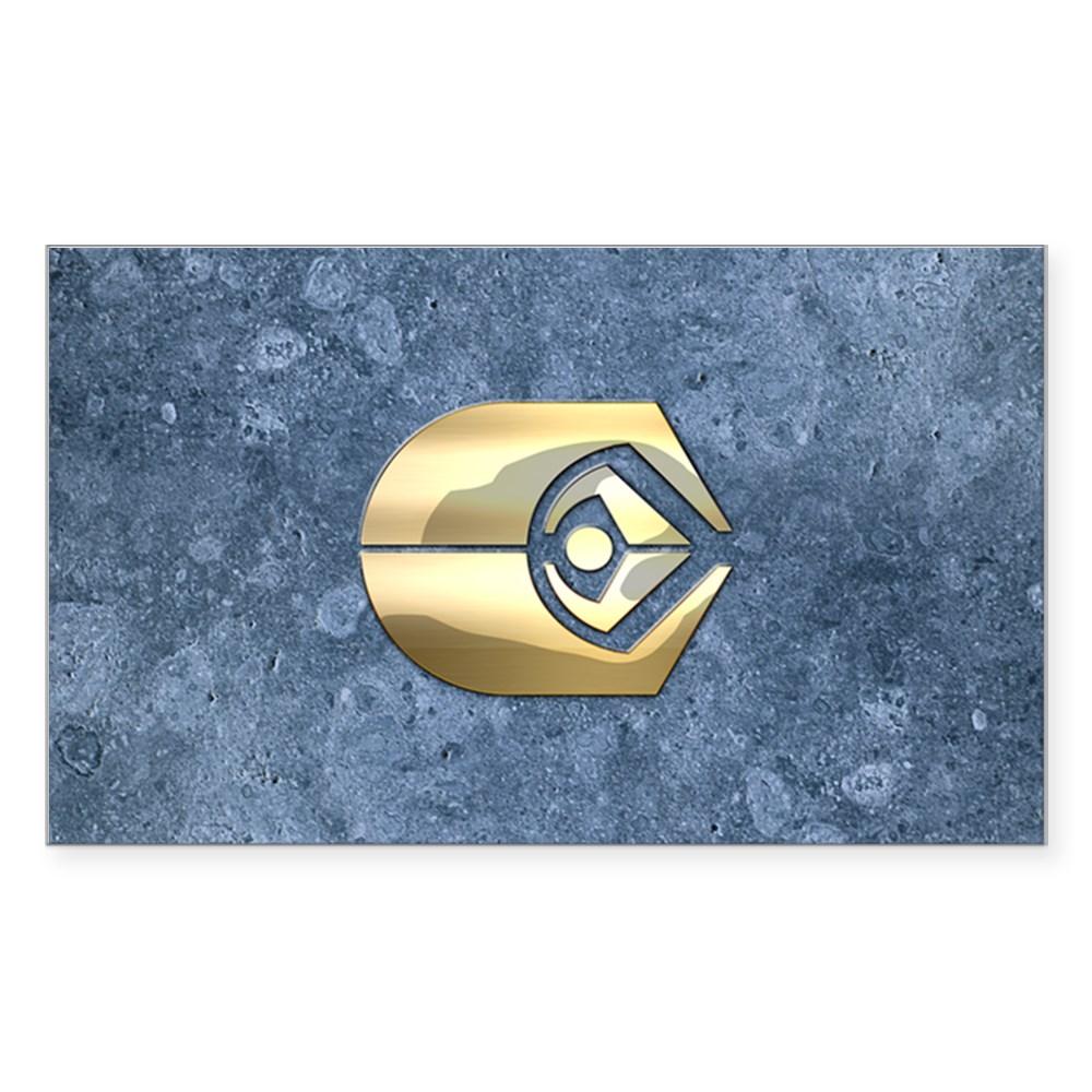 Ferengi Emblem Rectangle Sticker