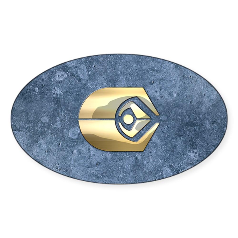 Ferengi Emblem Oval Sticker