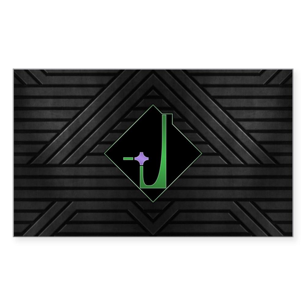 Dominion Emblem Rectangle Sticker