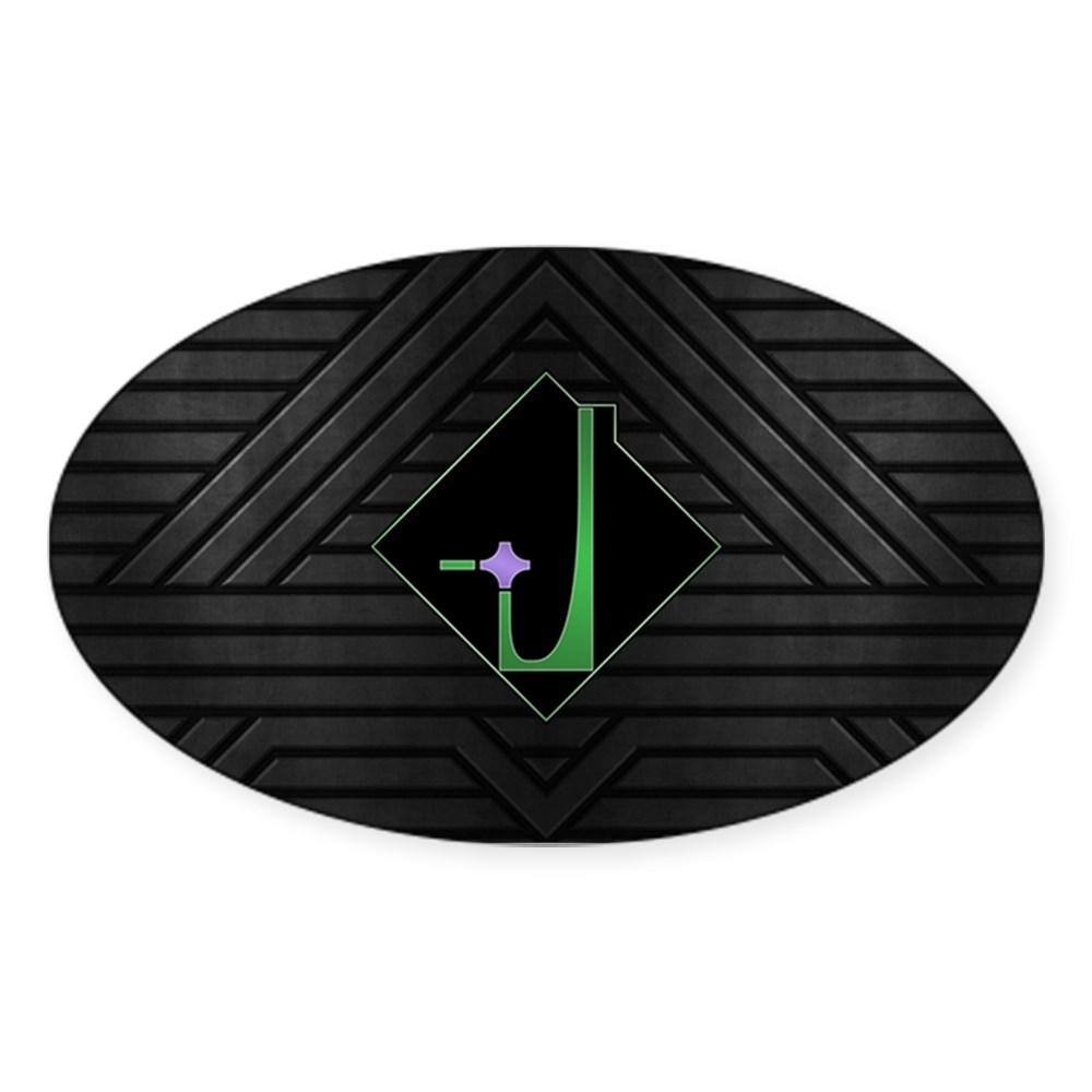 Dominion Emblem Oval Sticker