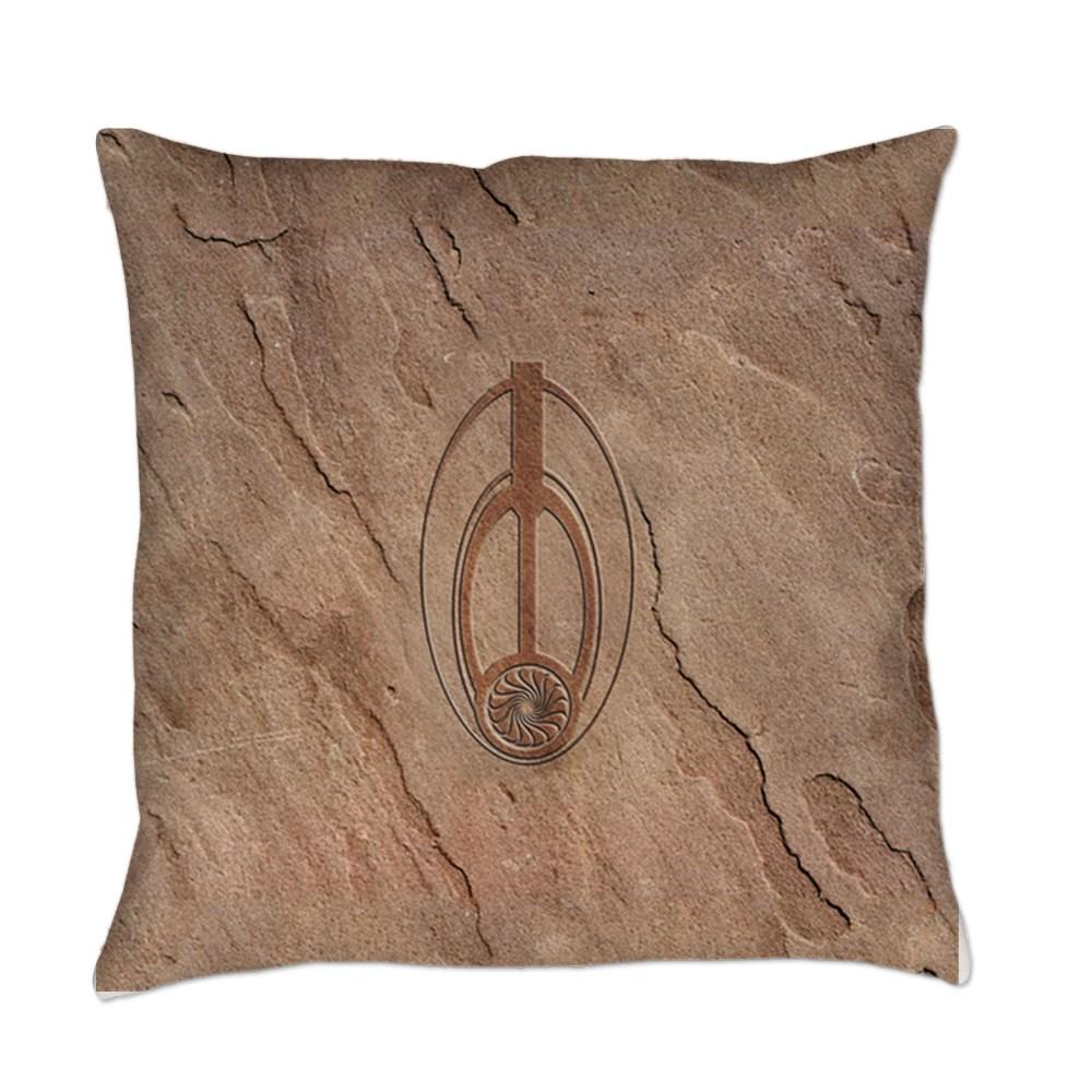 Bajoran Emblem Everyday Pillow