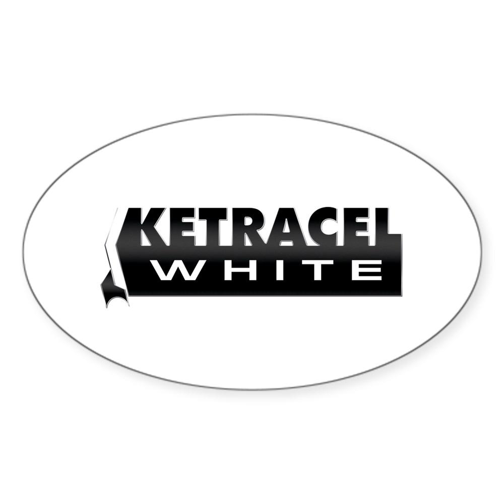 Ketracel White Oval Sticker