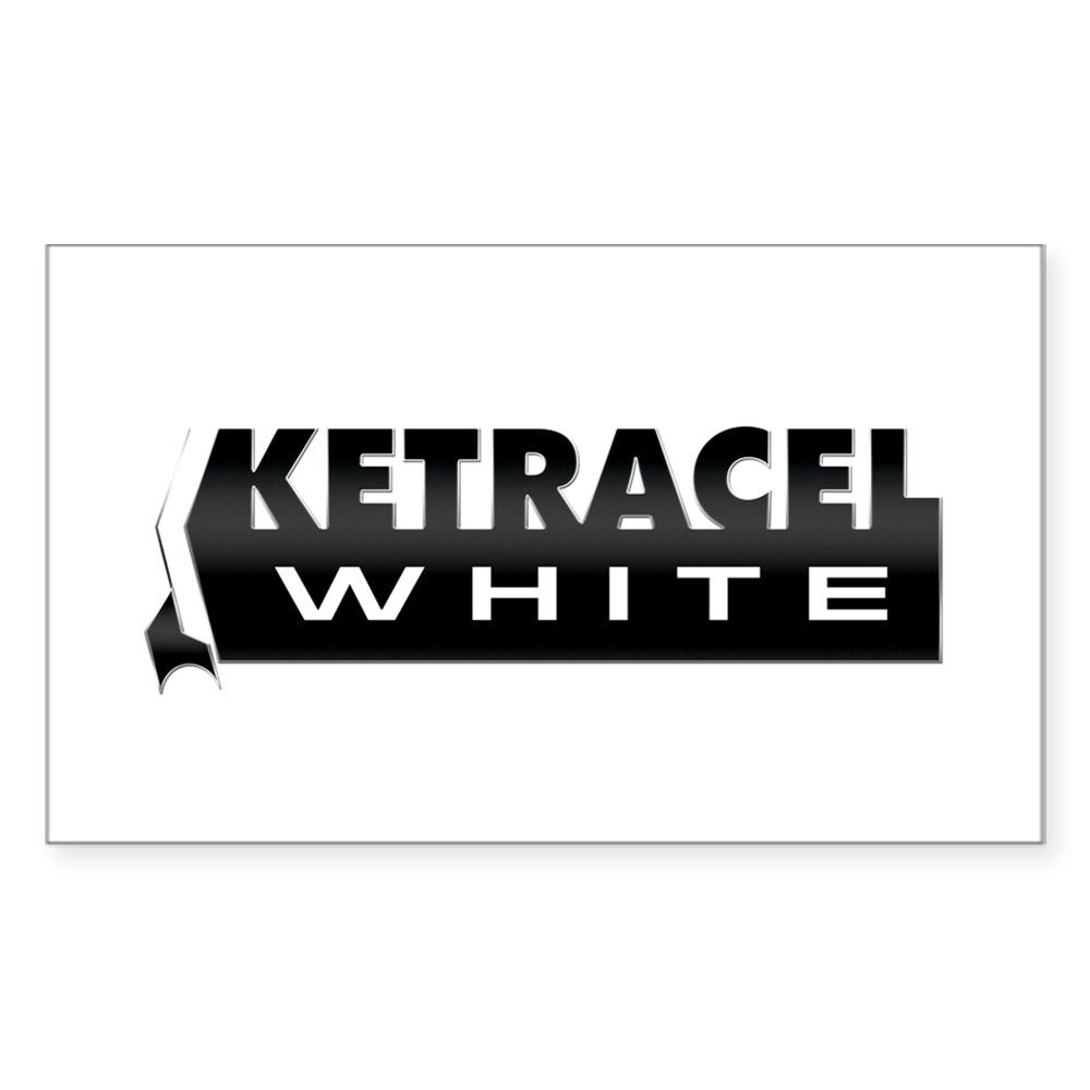 Ketracel White Rectangle Sticker