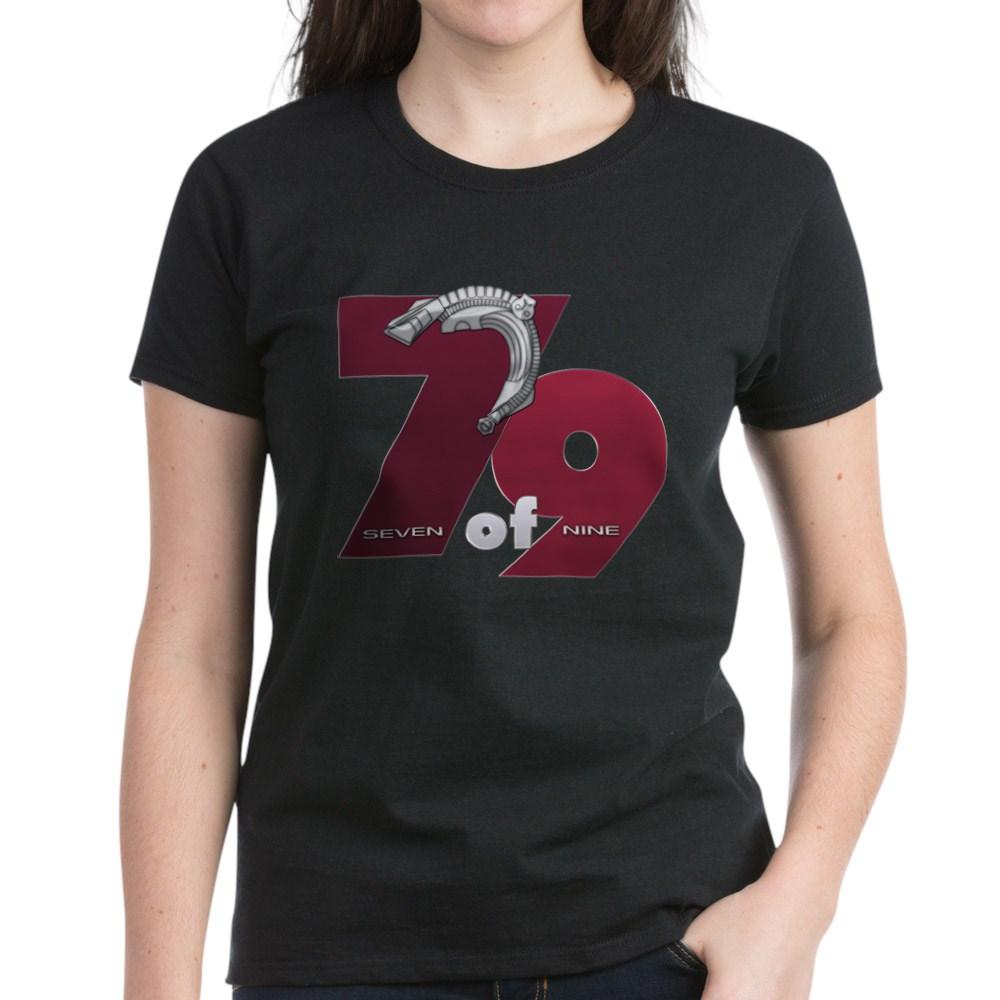 Seven of Nine Women's Dark T-Shirt
