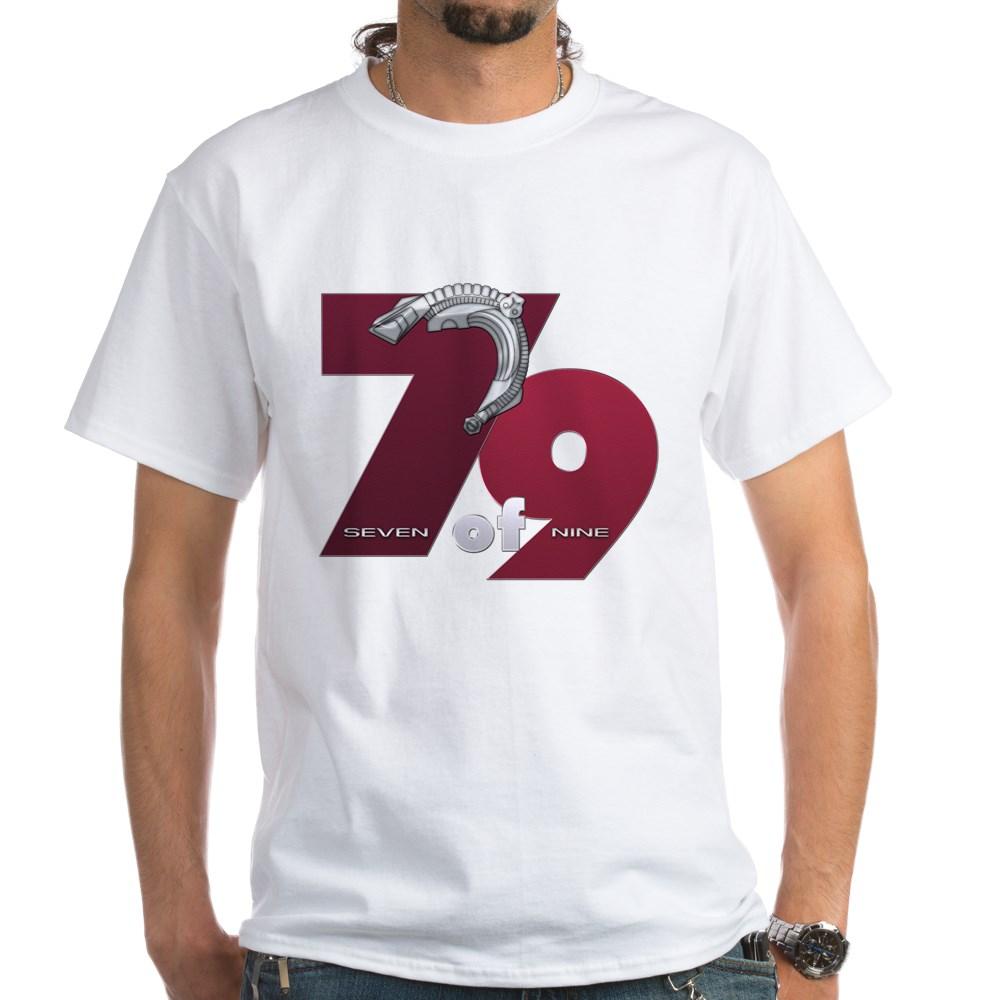 Seven of Nine White T-Shirt
