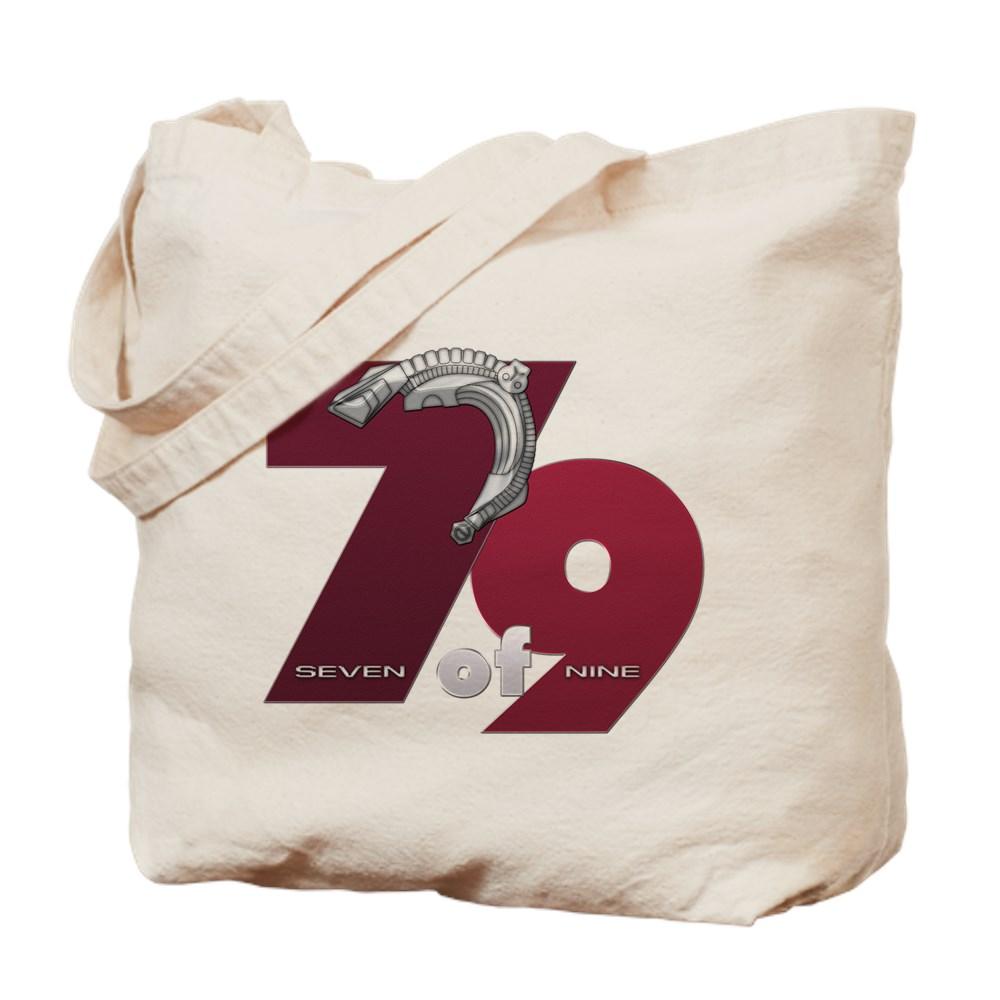 Seven of Nine Tote Bag