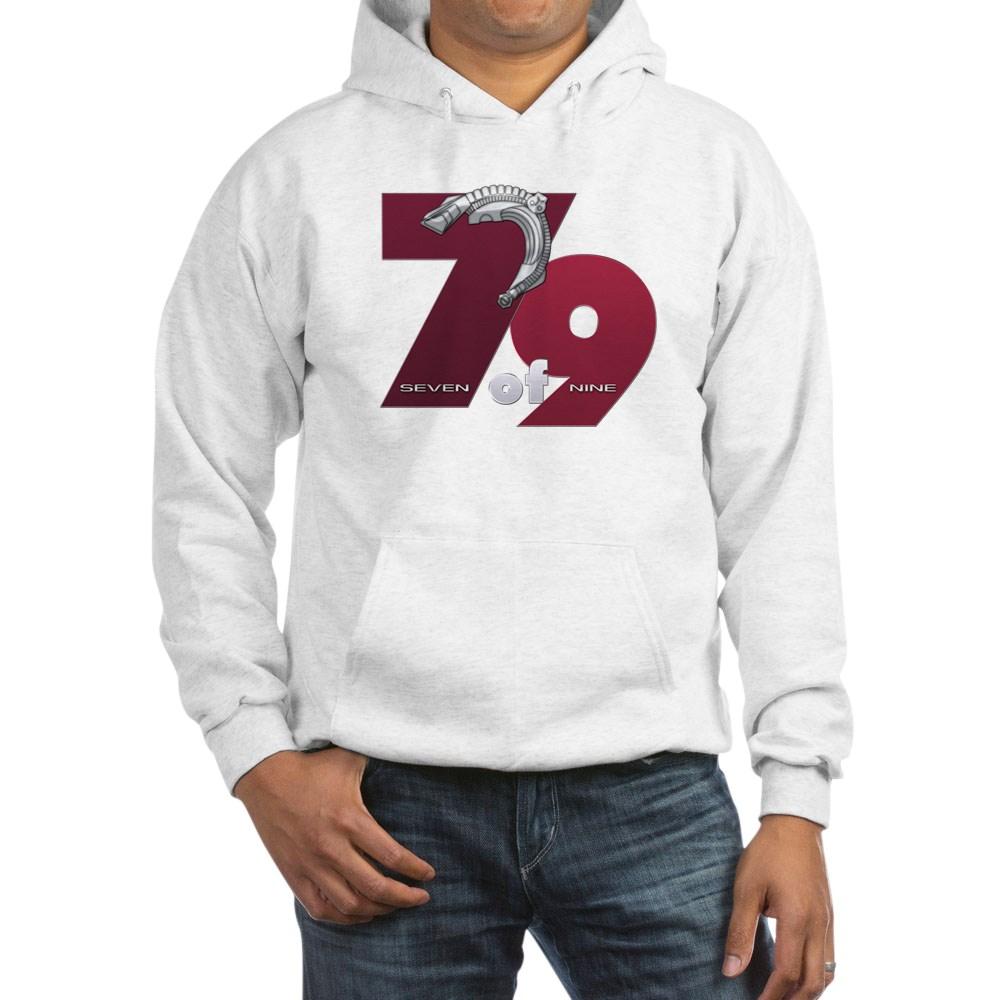 Seven of Nine Hooded Sweatshirt