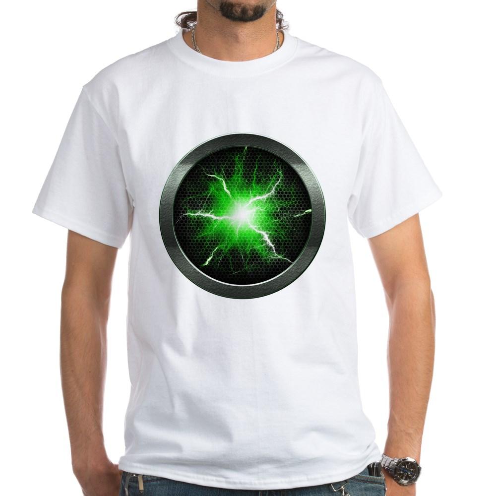 Borg Regeneration Disc White T-Shirt