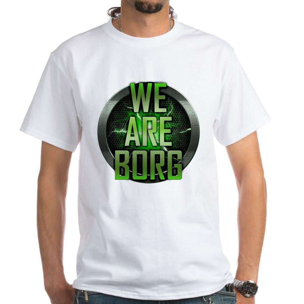We Are Borg White T-Shirt