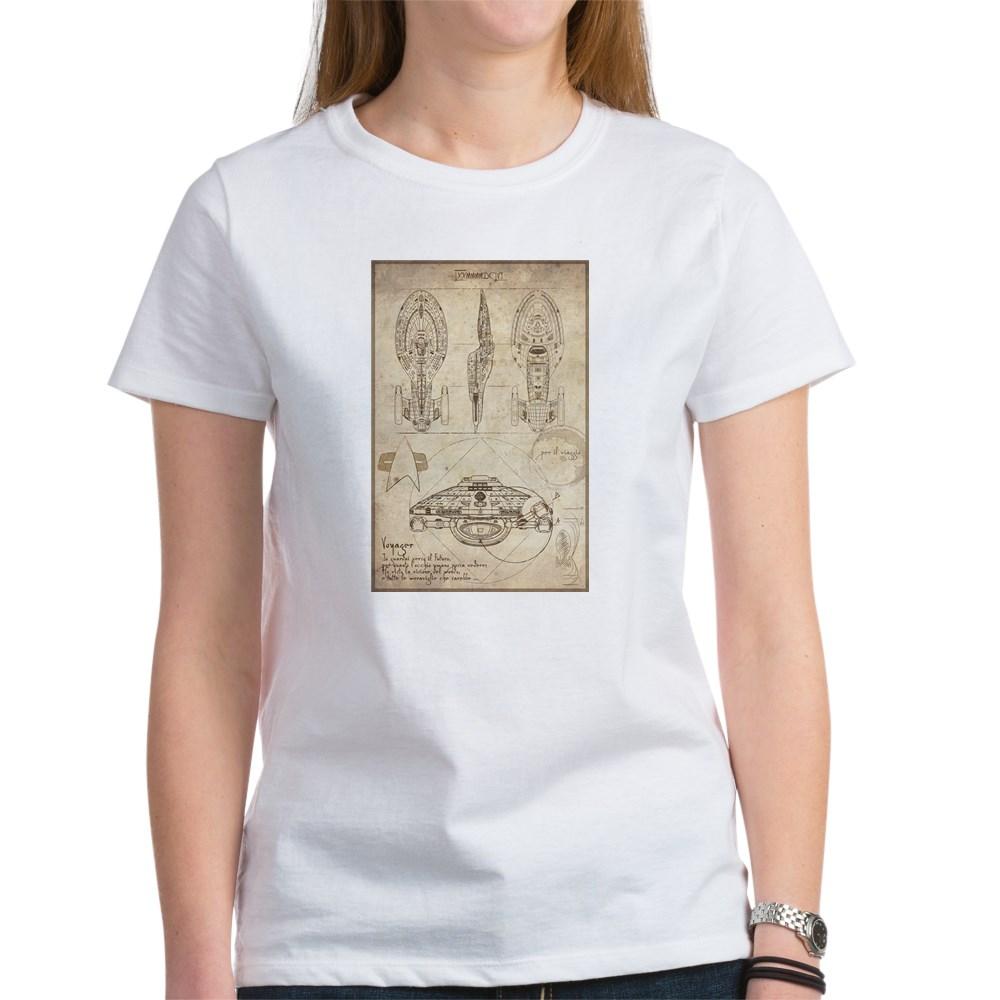 Da Vinci USS Voyager Women's T-Shirt