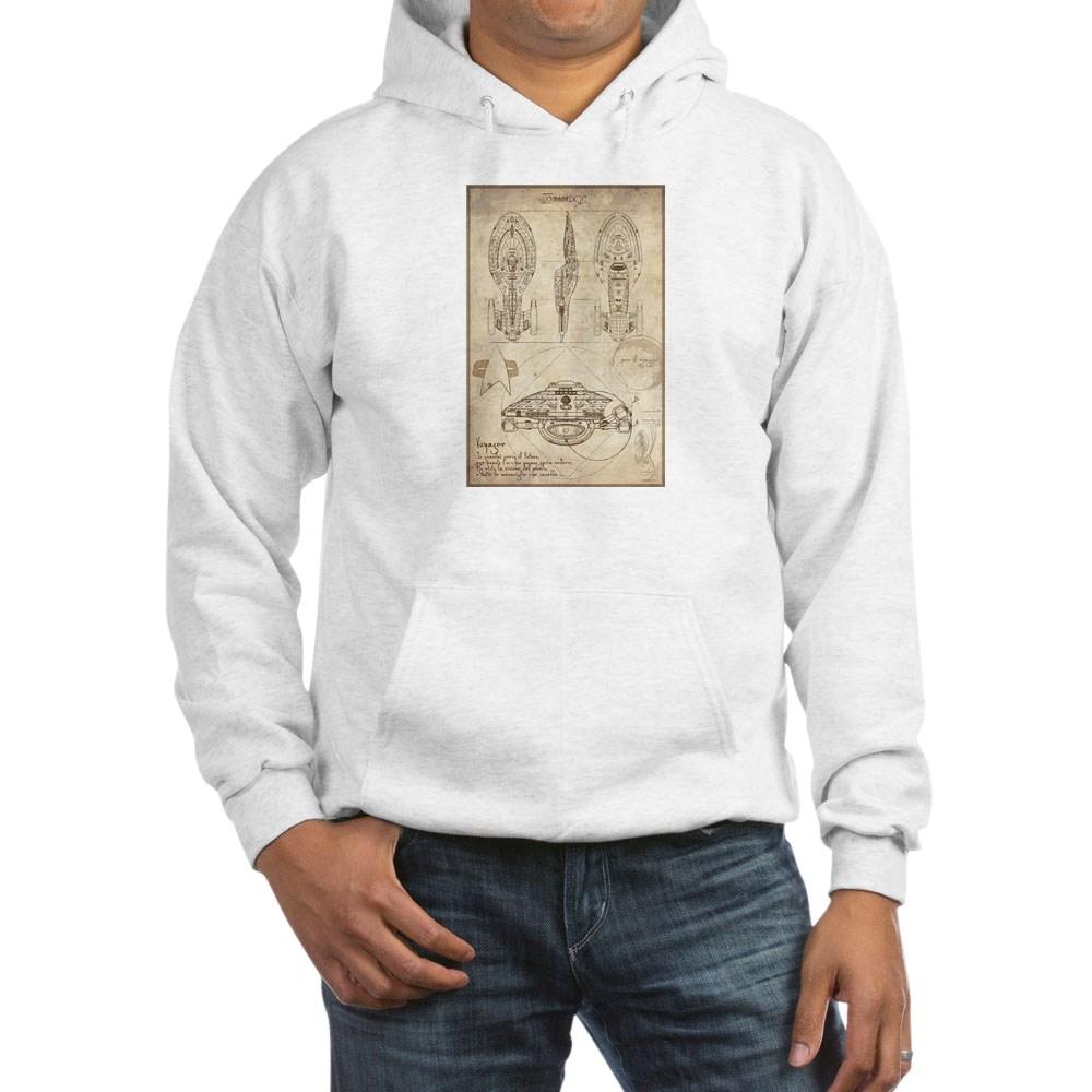 Da Vinci USS Voyager Hooded Sweatshirt