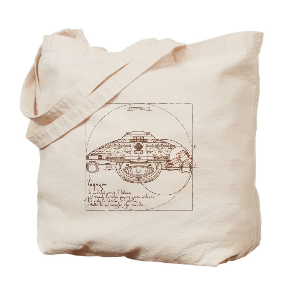 Vitruvian Voyager Tote Bag