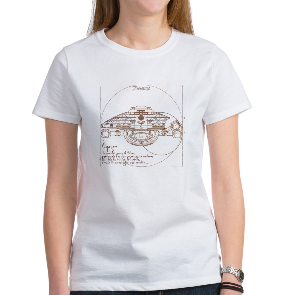 Vitruvian Voyager Women's T-Shirt