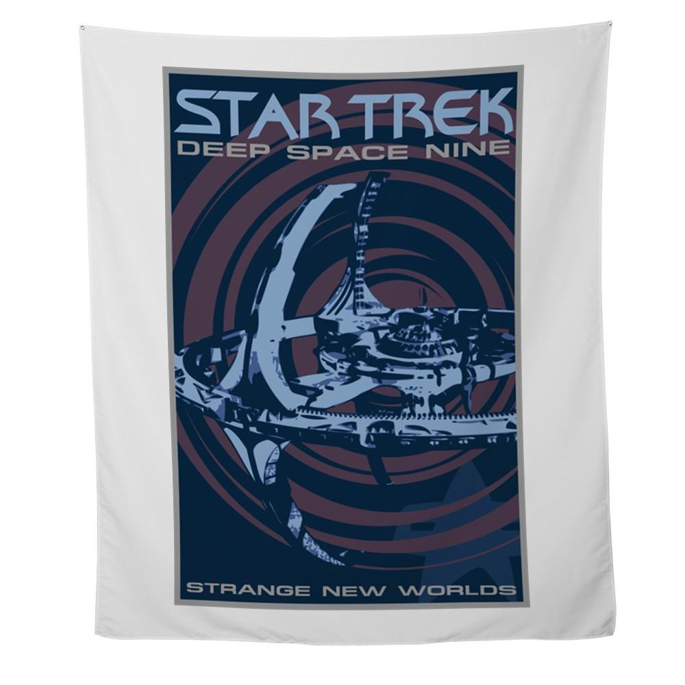 Retro Star Trek: Deep Space Nine Poster Wall Tapestry