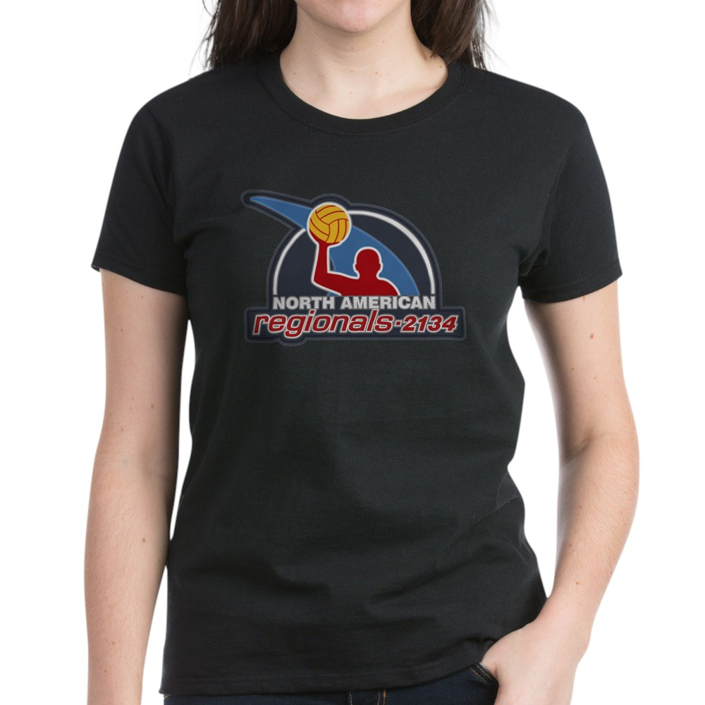 Water Polo North American Regional 2134 Women's Dark T-Shirt