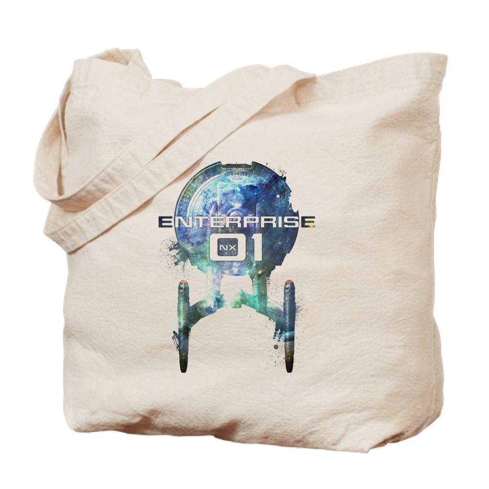 Cosmic Enterprise NX-01 Tote Bag