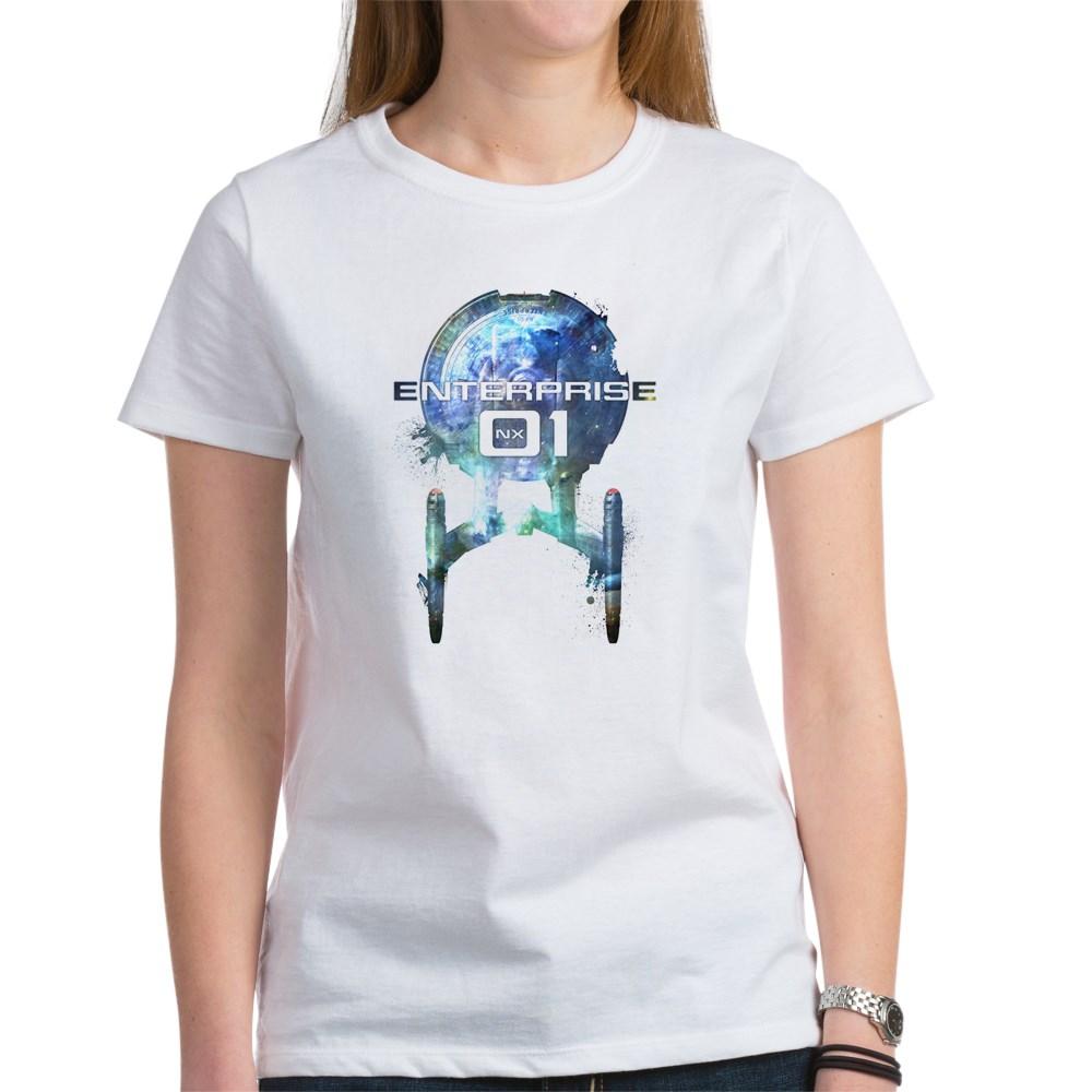 Cosmic Enterprise NX-01 Women's T-Shirt