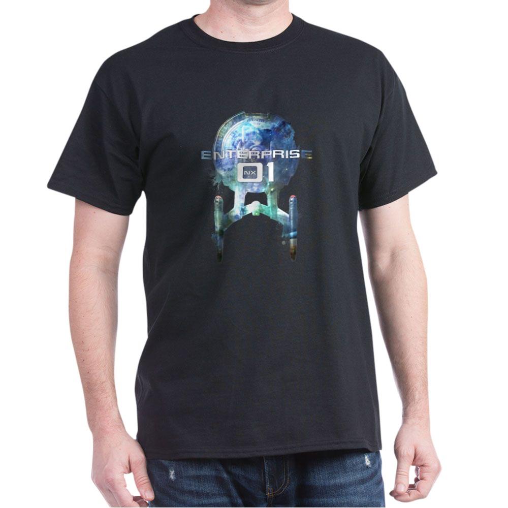 Cosmic Enterprise NX-01 Dark T-Shirt