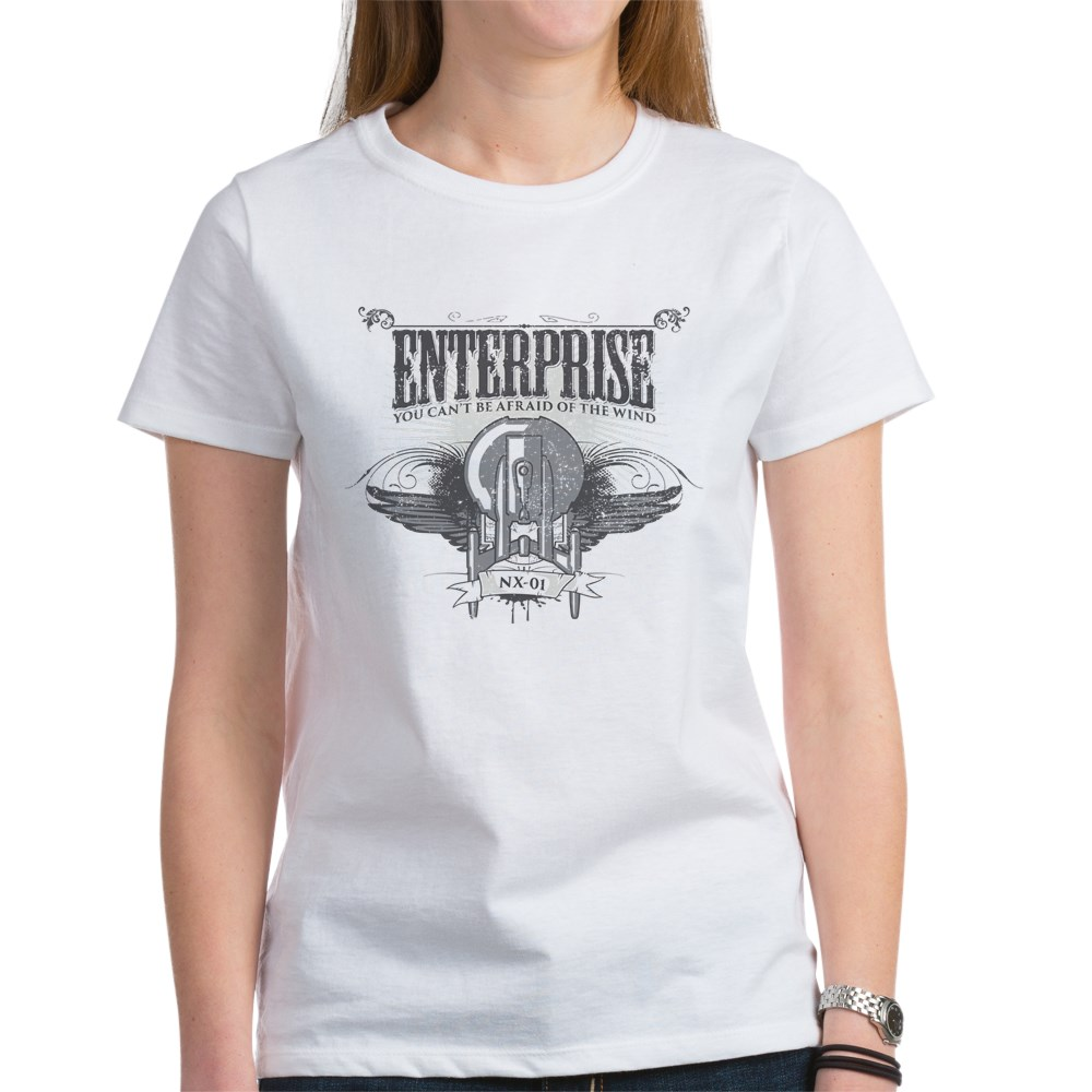 Afraid of the Wind Enterprise Women's T-Shirt