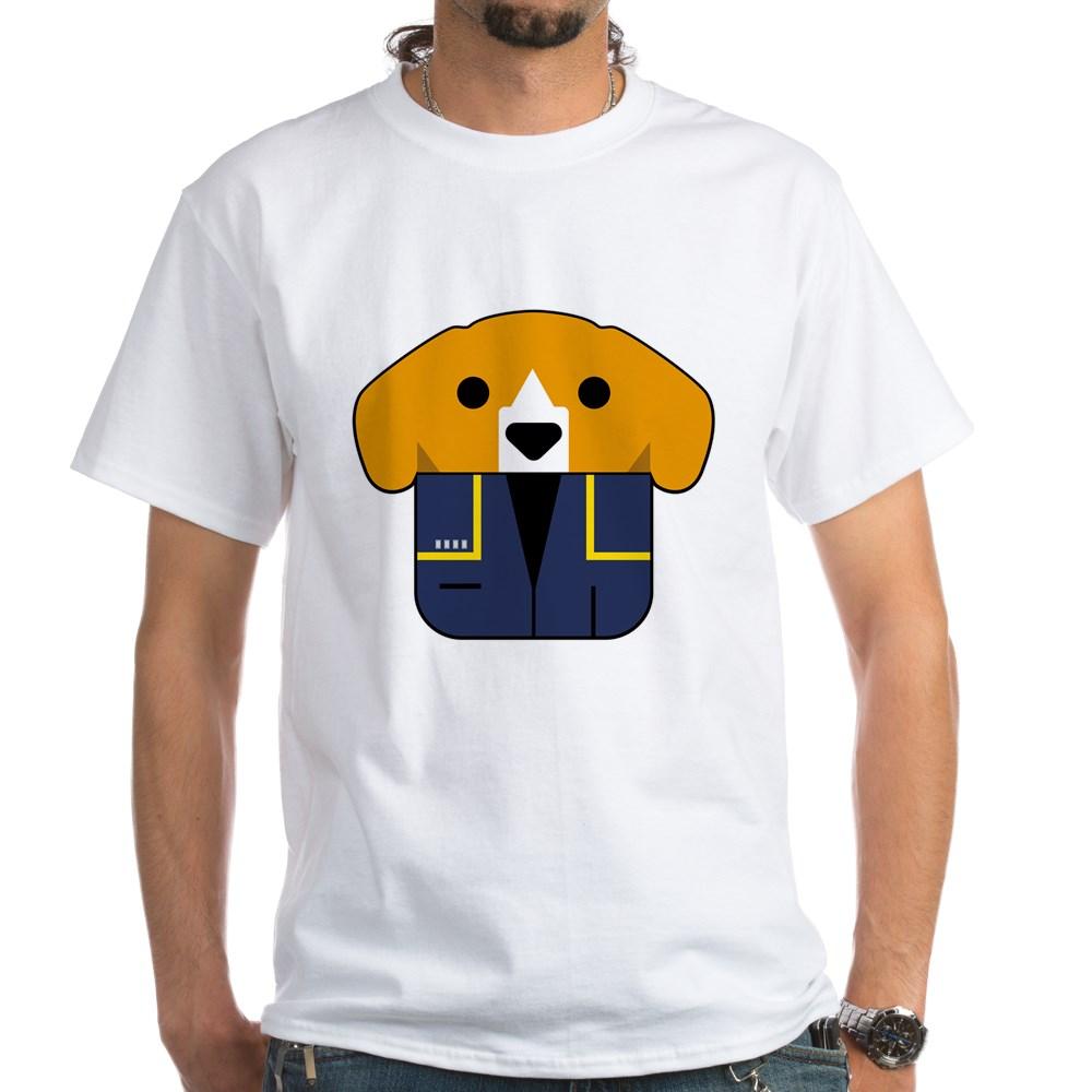 Captain Porthos White T-Shirt