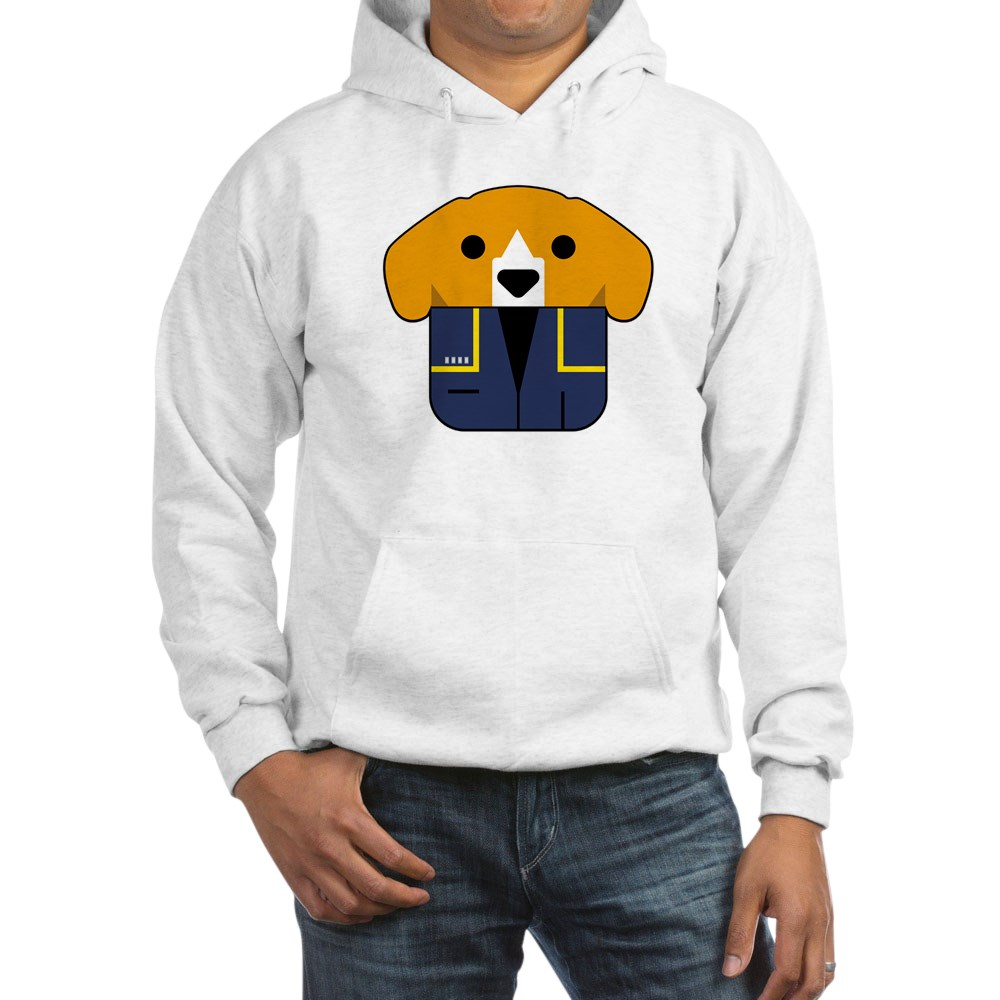Captain Porthos Hooded Sweatshirt