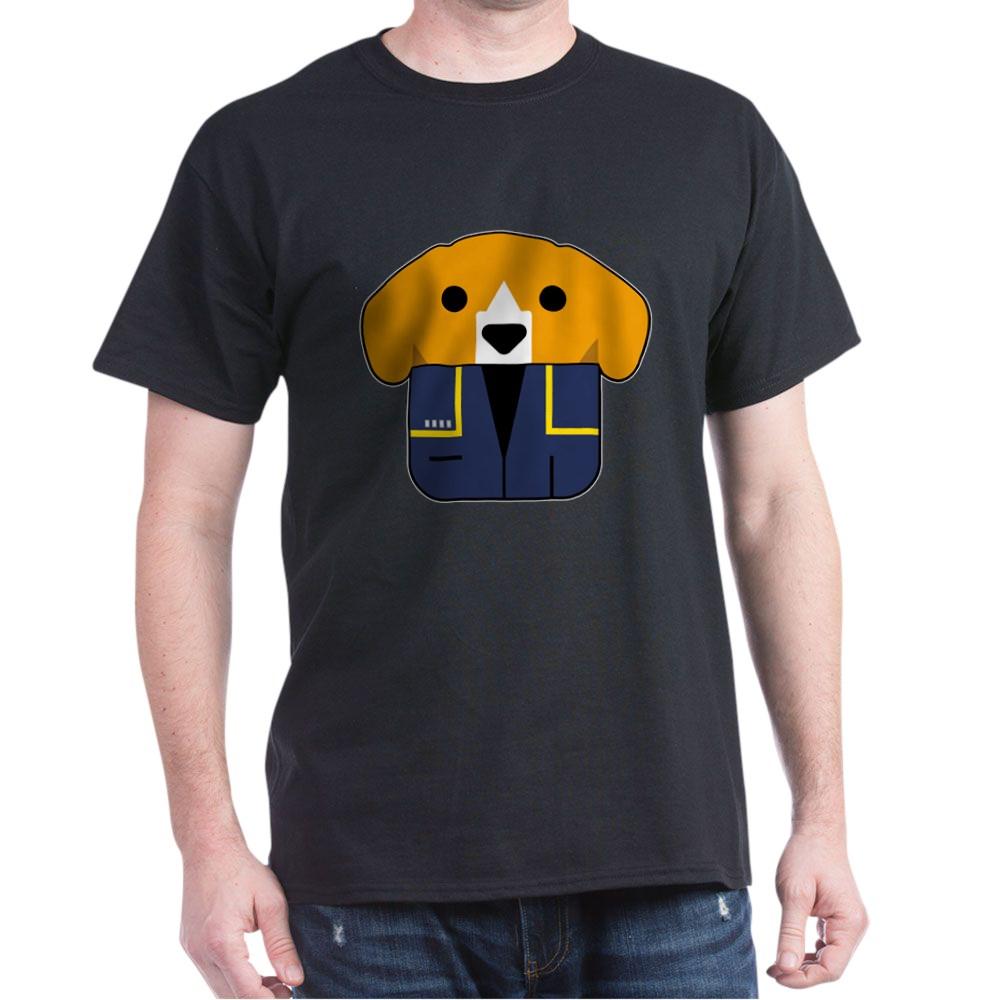 Captain Porthos Dark T-Shirt