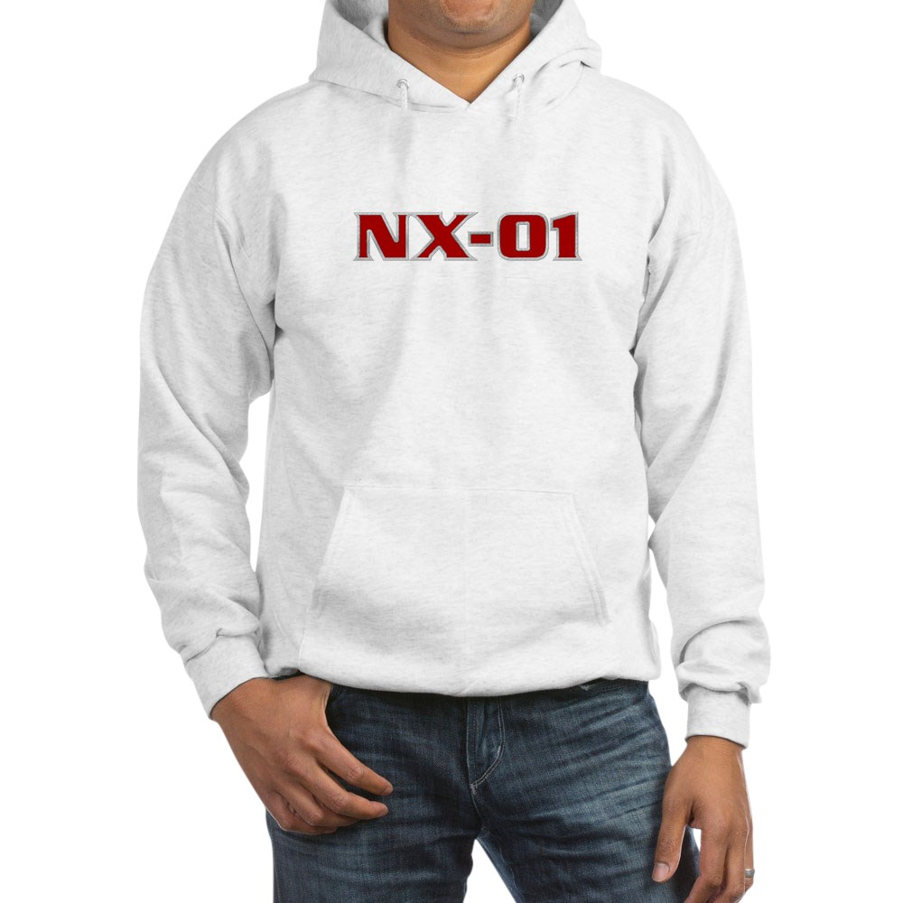 NX-01 Logo Hooded Sweatshirt