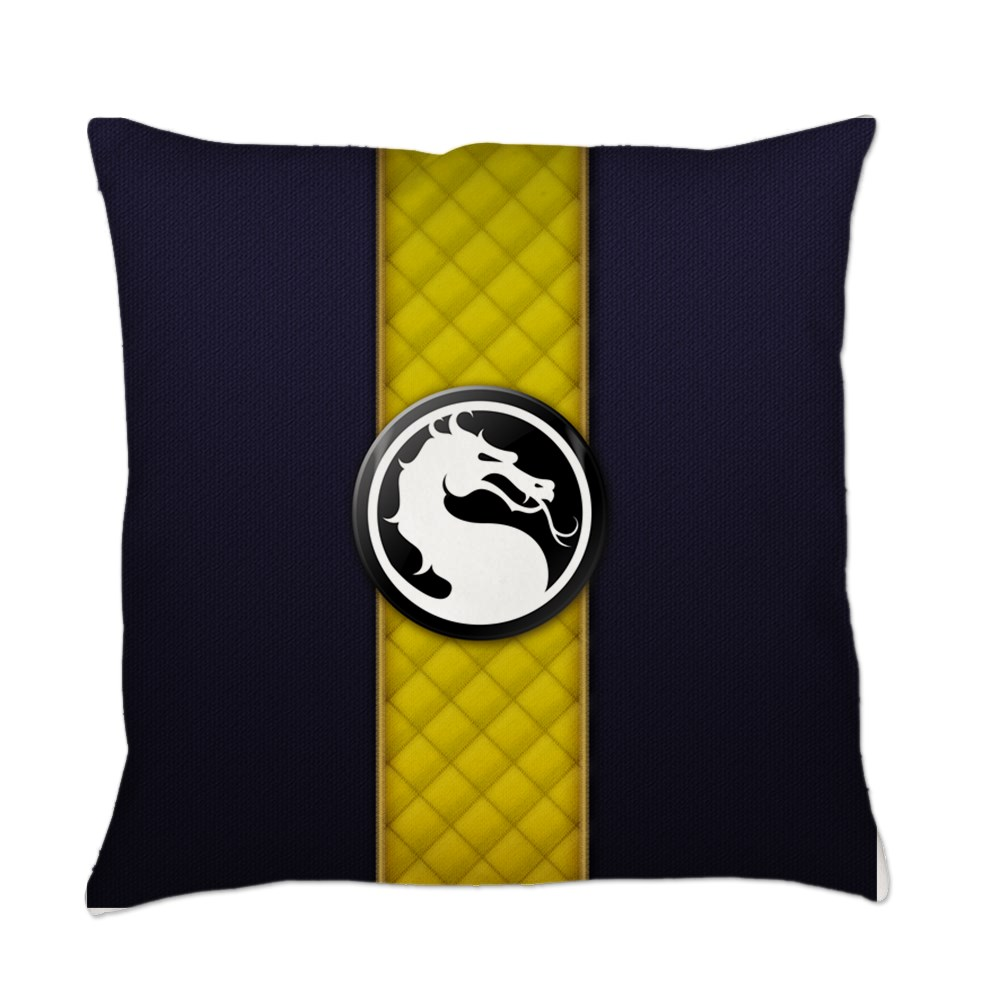 Mortal Kombat Logo - Scorpion Klassic Everyday Pillow