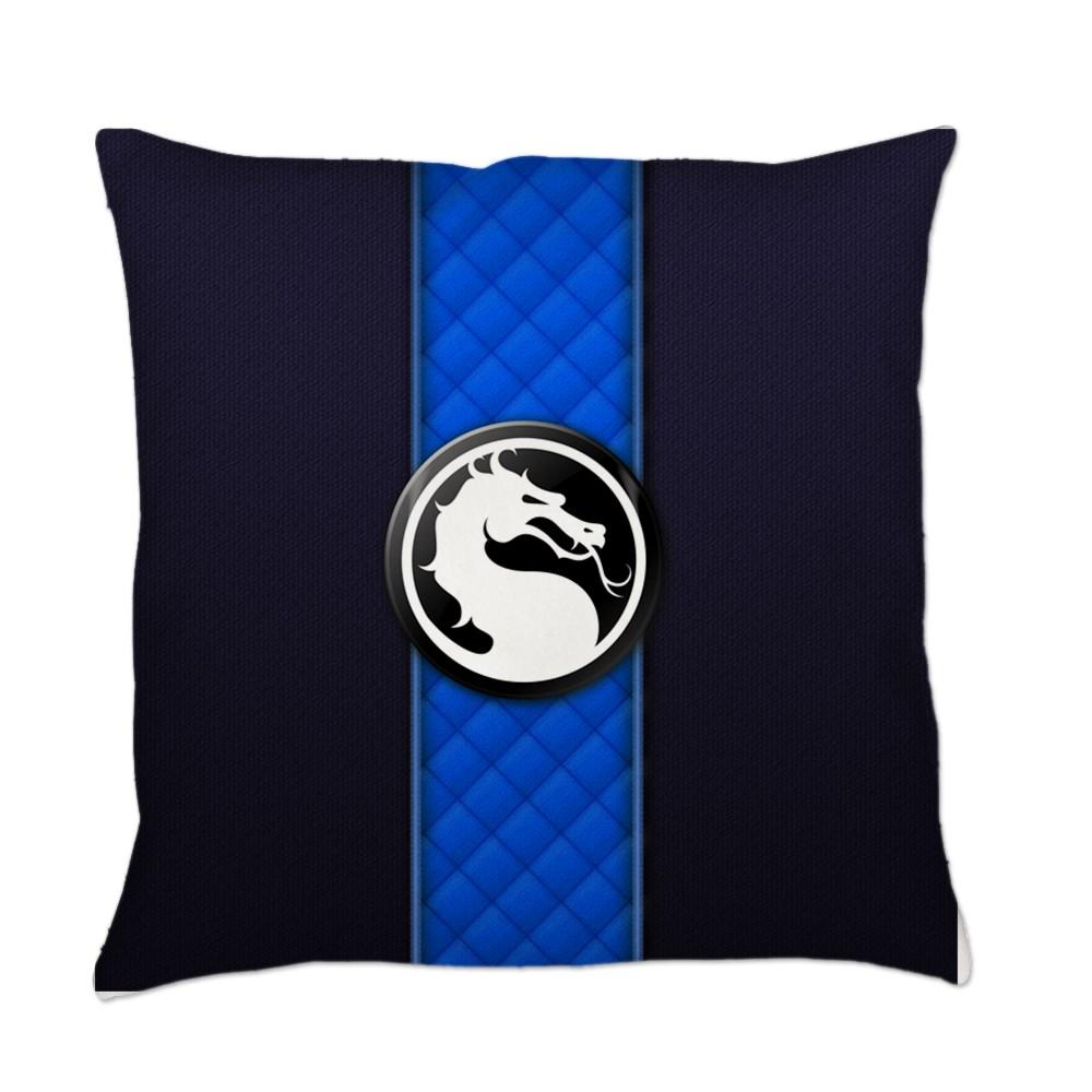 Mortal Kombat Logo - Sub-Zero Klassic Everyday Pillow