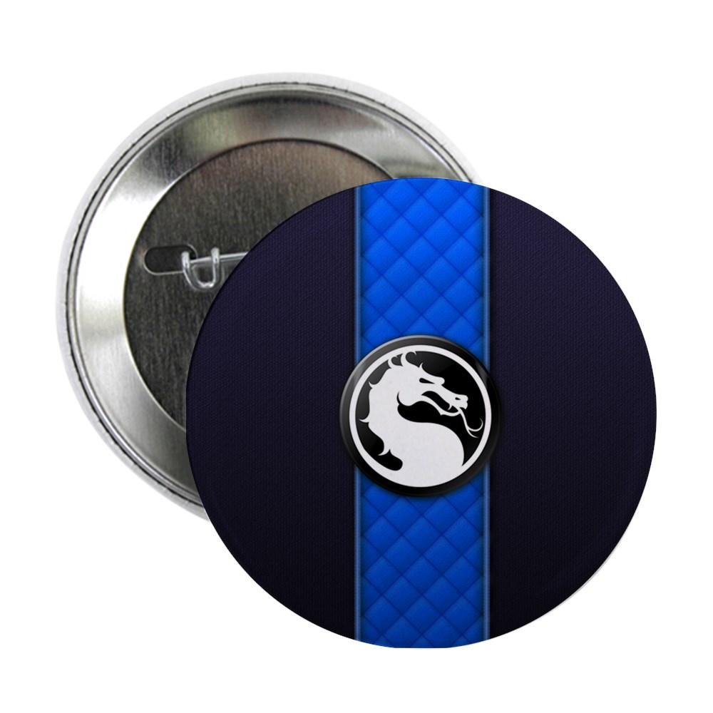 Mortal Kombat Logo - Sub-Zero Klassic 2.25