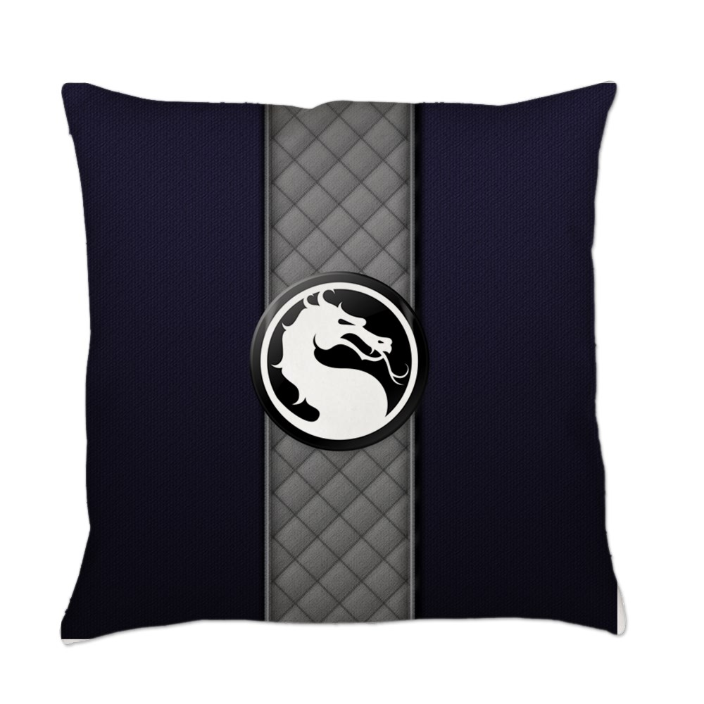 Mortal Kombat Logo - Smoke Klassic Everyday Pillow