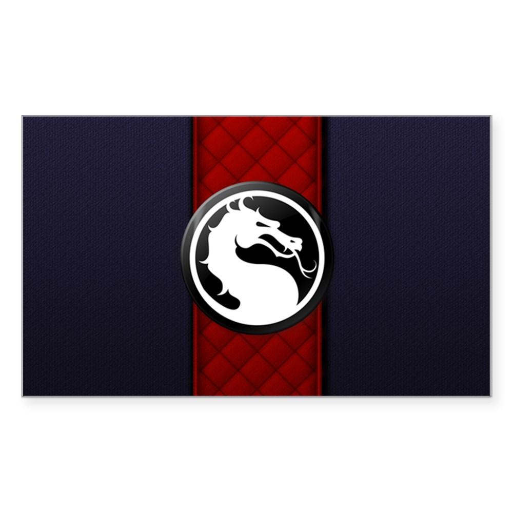 Mortal Kombat Logo - Ermac Klassic Rectangle Sticker