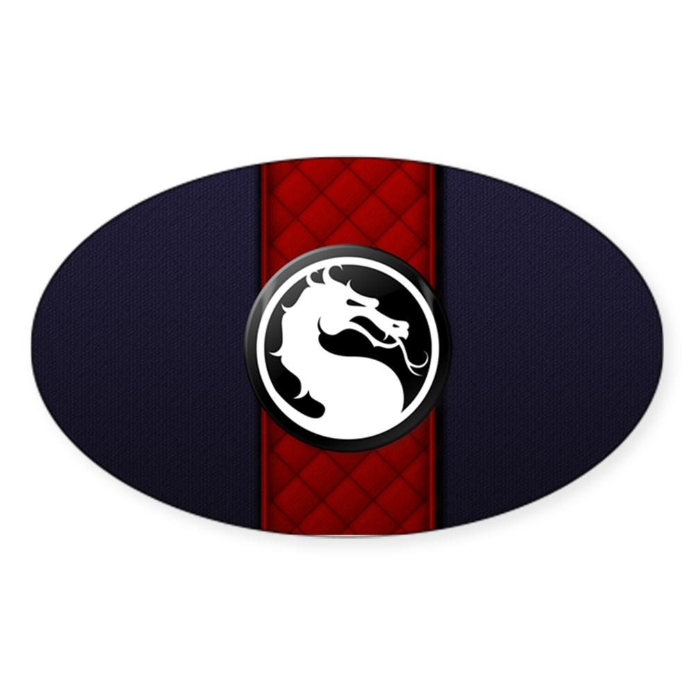 Mortal Kombat Logo - Ermac Klassic Oval Sticker