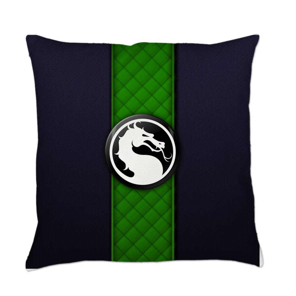 Mortal Kombat Logo - Reptile Klassic Everyday Pillow