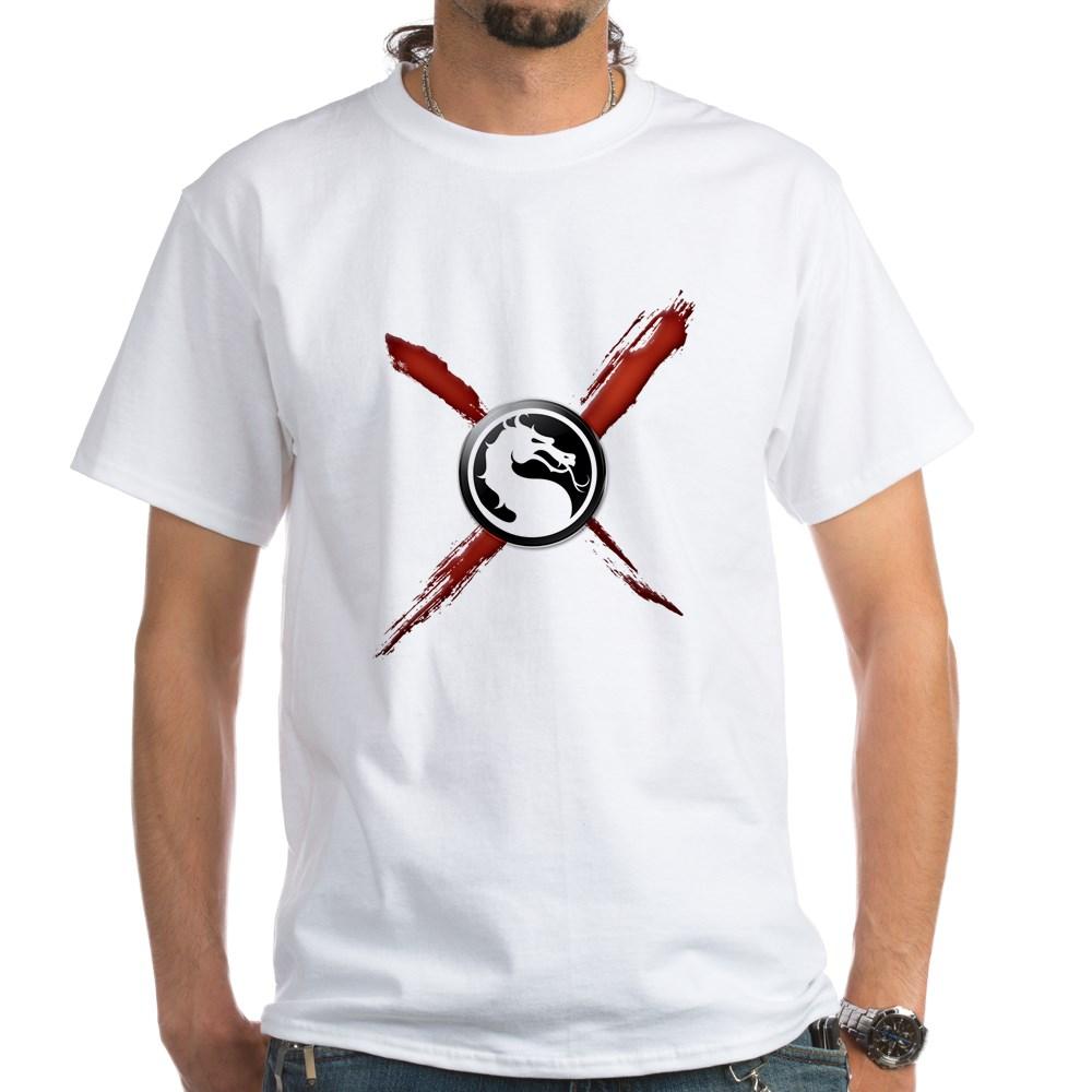 Mortal Kombat X White T-Shirt