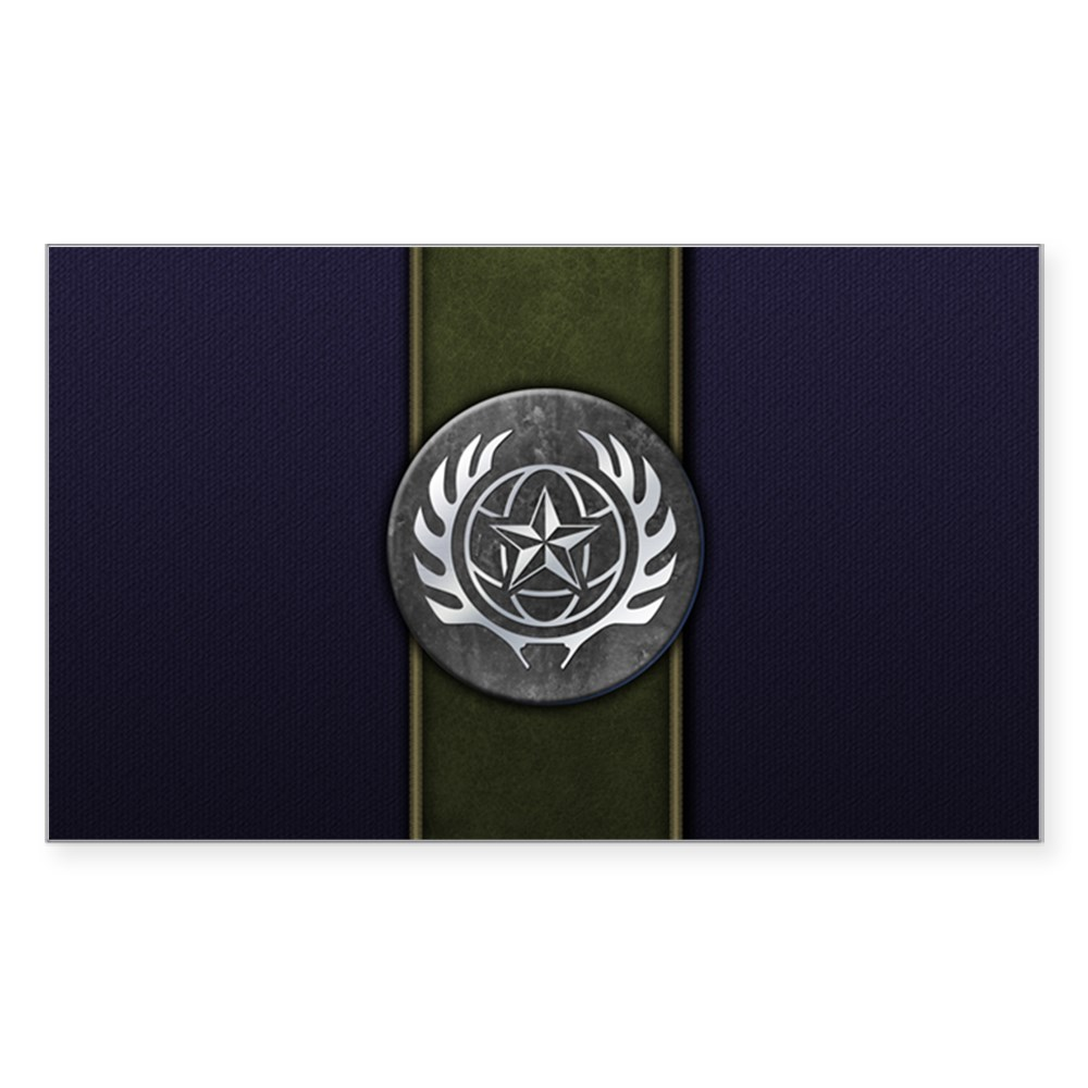 Mortal Kombat X Faction - Special Forces Rectangle Sticker