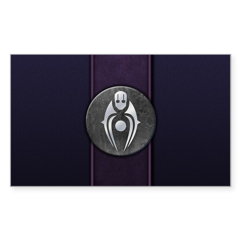 Mortal Kombat X Faction - Brotherhood of Shadow Rectangle Sticker