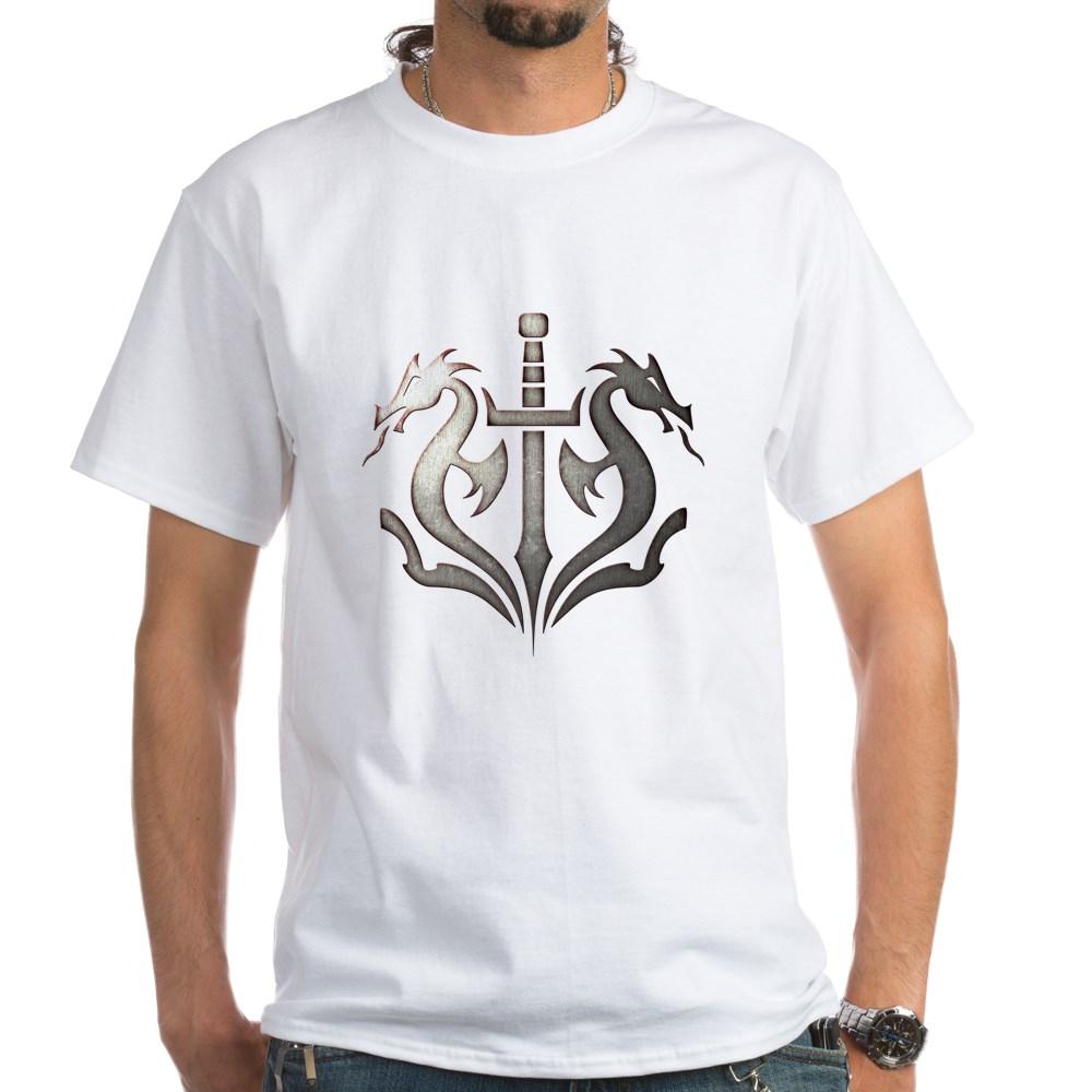 MKX Faction Black Dragon White T-Shirt