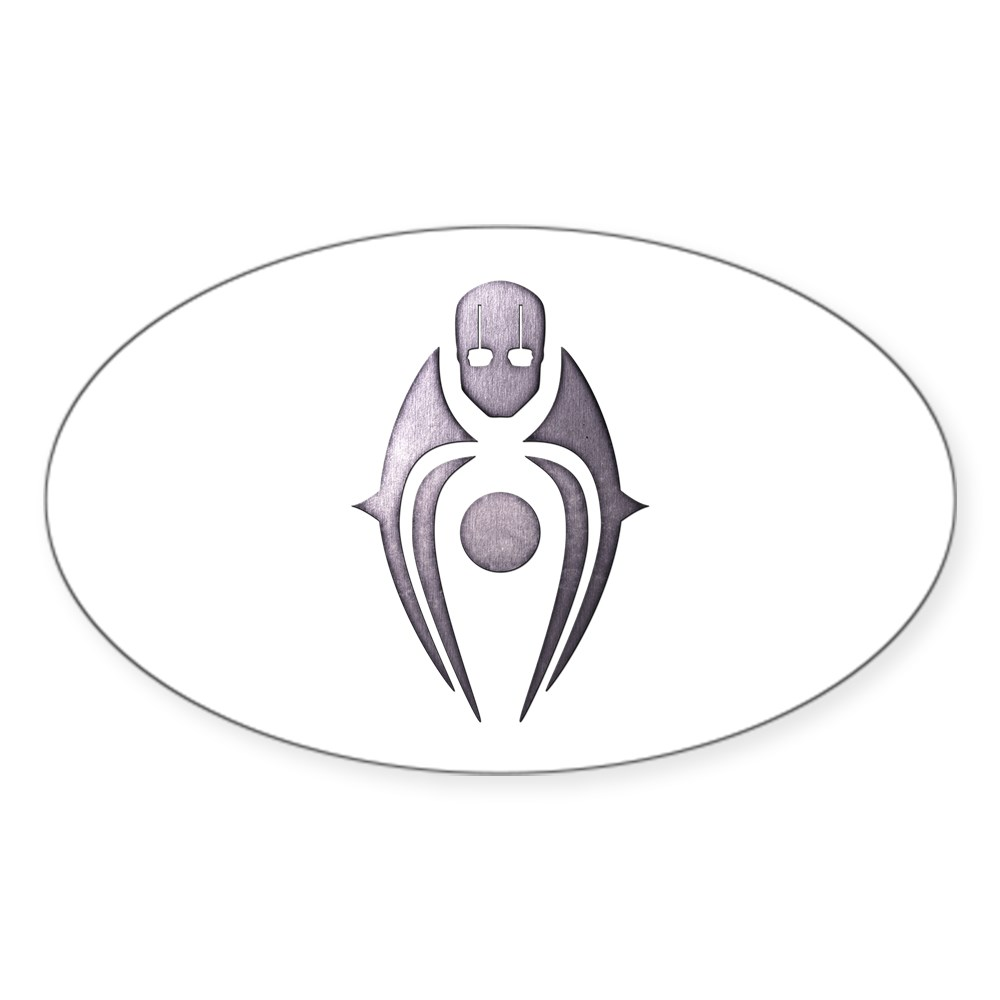 MKX Faction Brotherhood of Shadow Oval Sticker